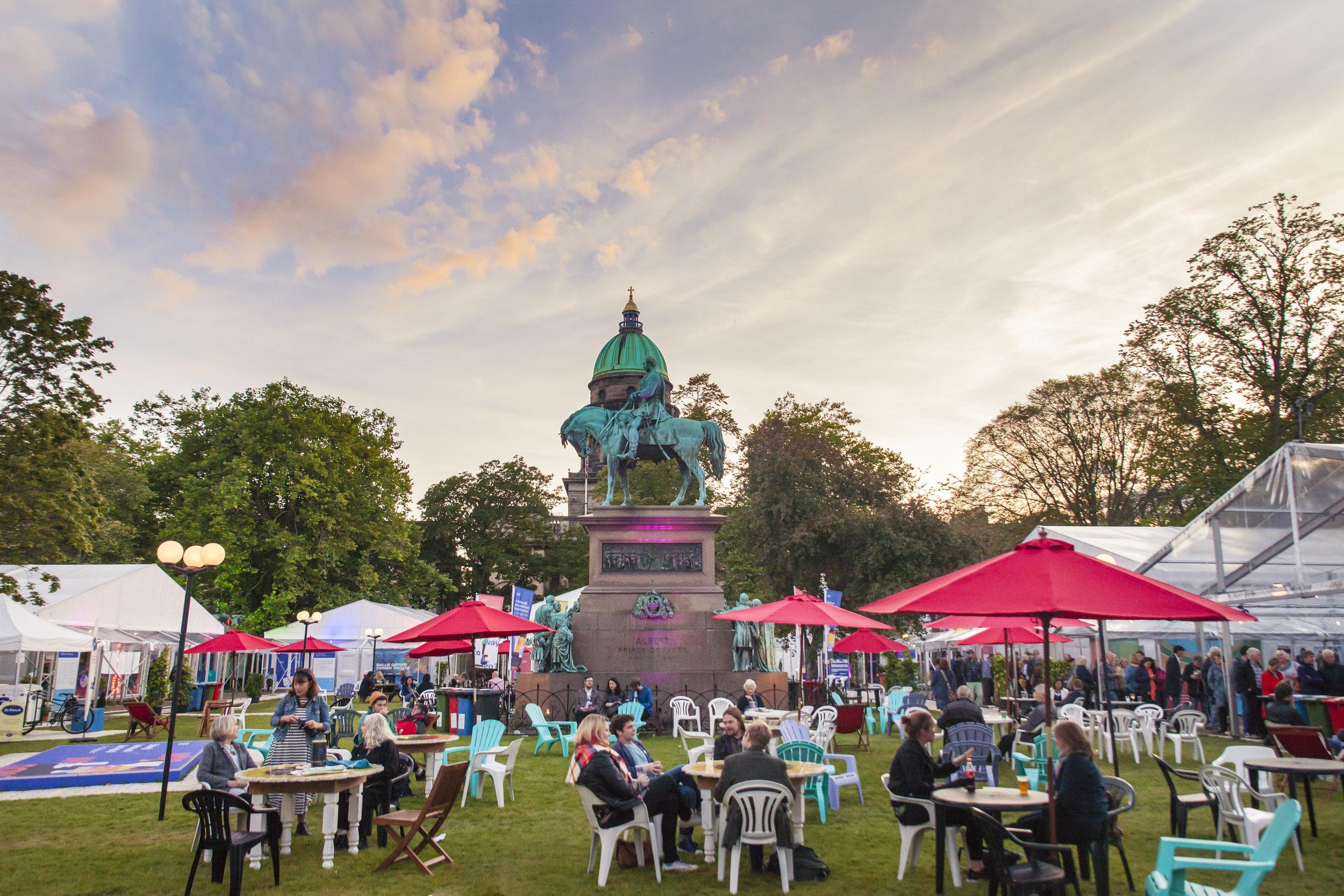 Edinburgh Book Festival -