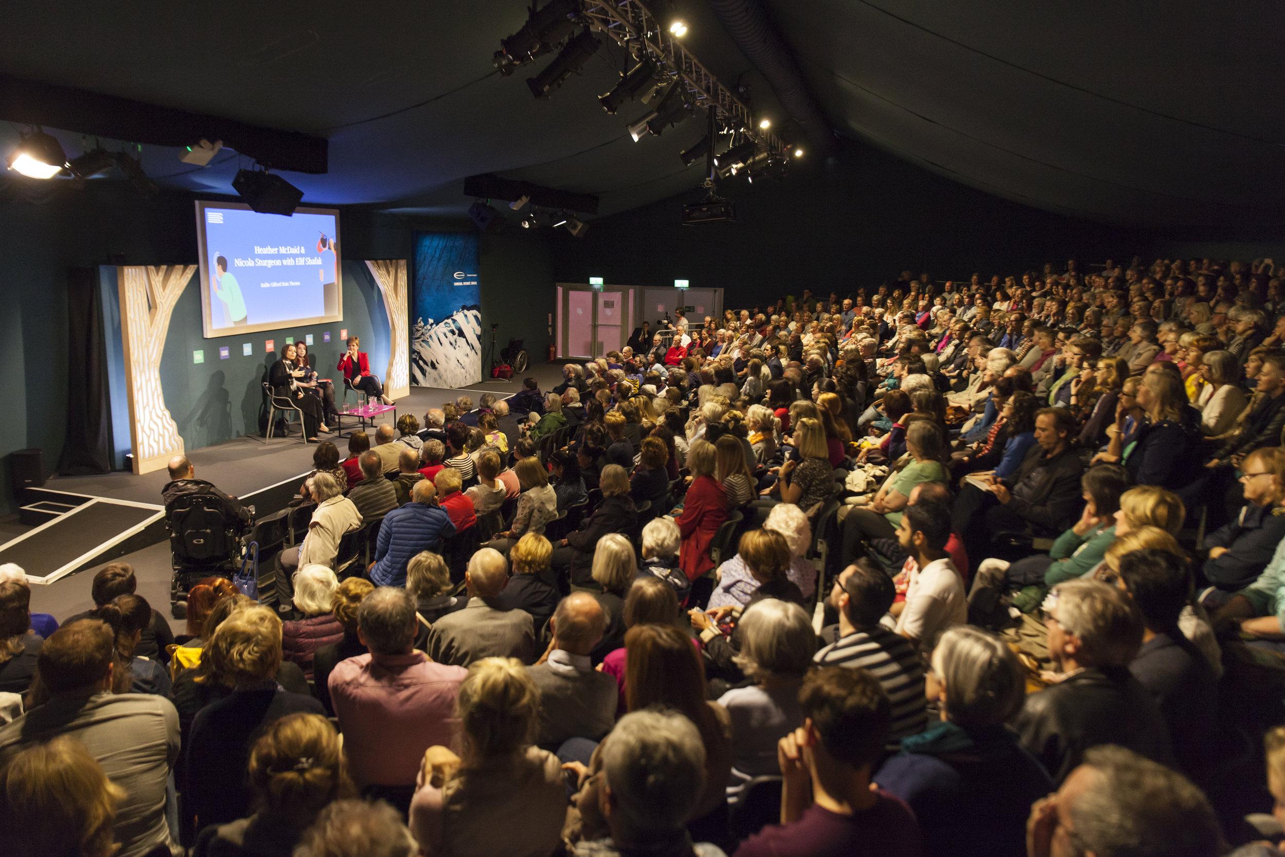 Main Theater Audience, Edinburgh International Book Festival