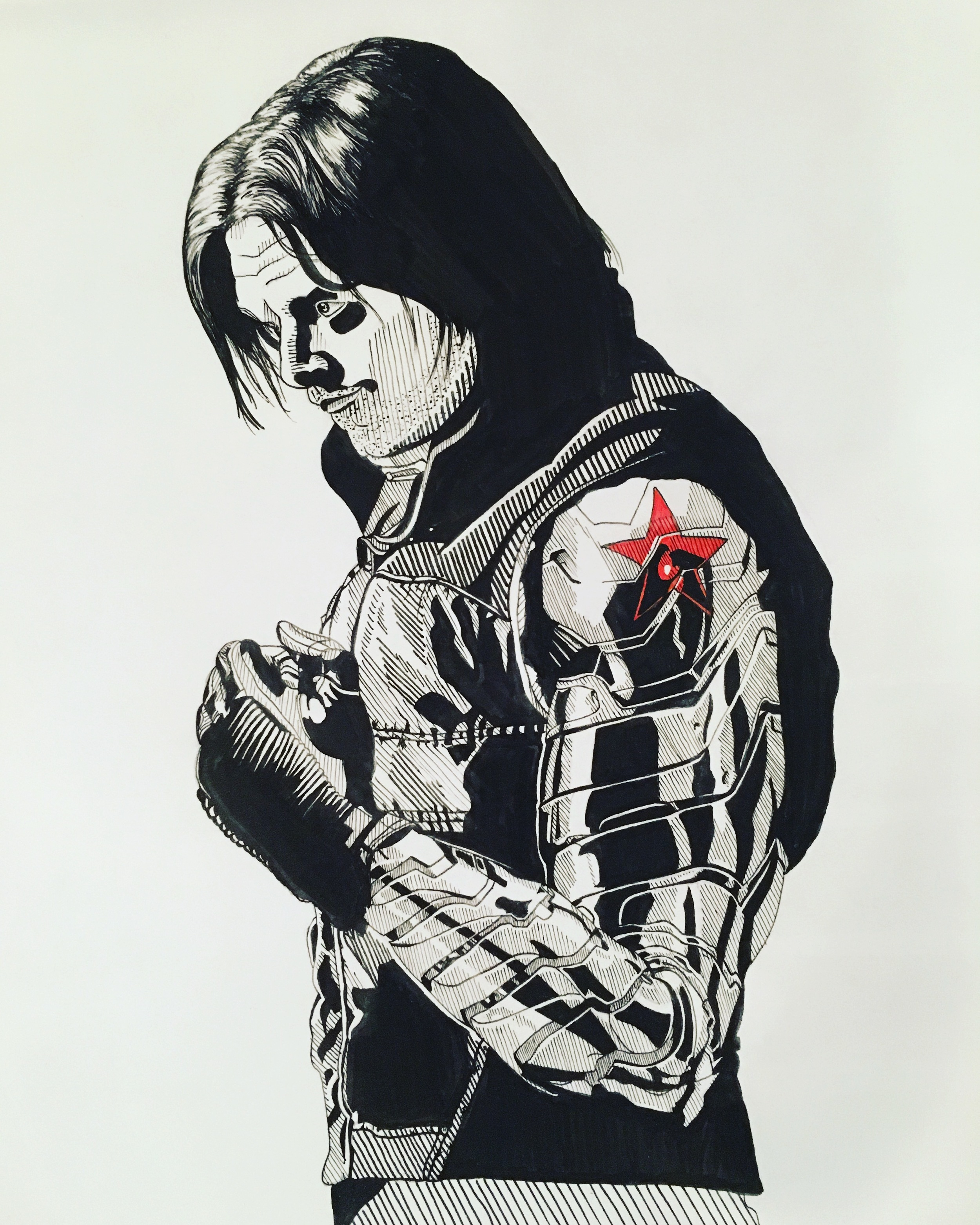 Civil War Series: Bucky Barnes