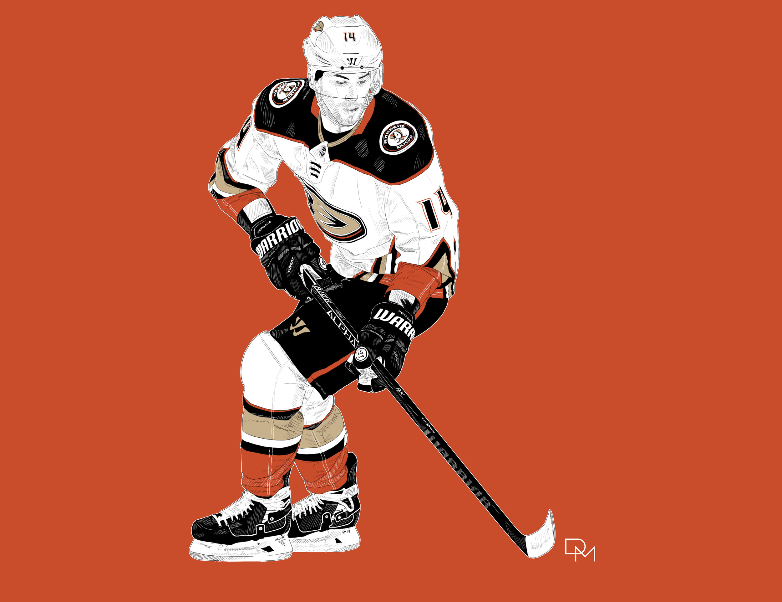 Adam Henrique - Anaheim Ducks
