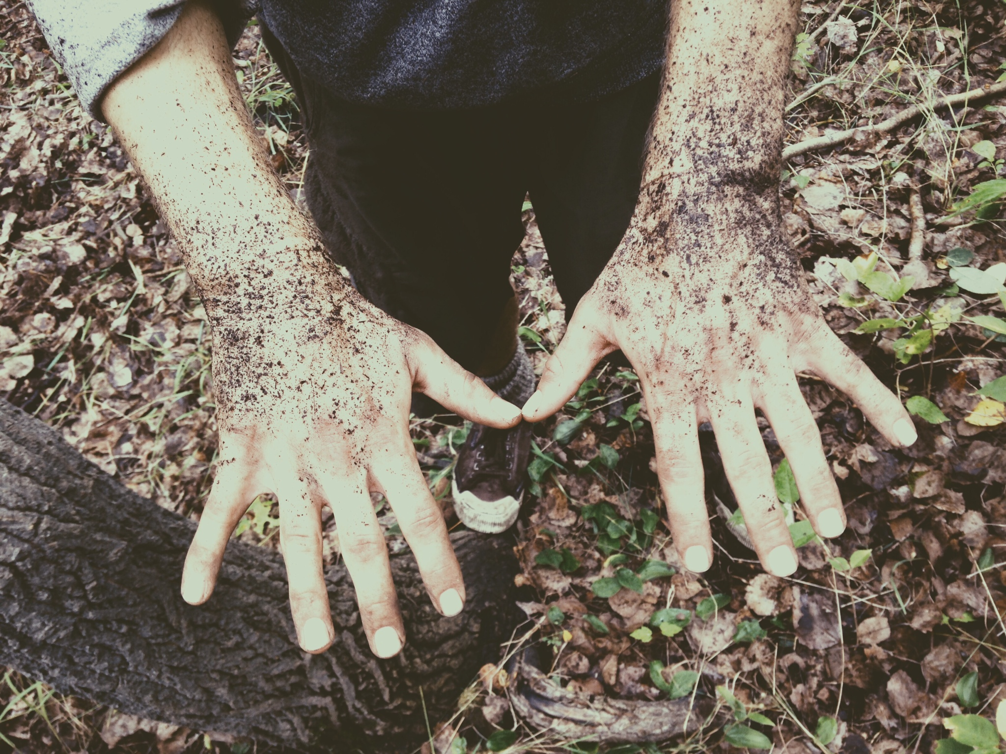 It's time to get dirty.   -photo by Lauren Pero.