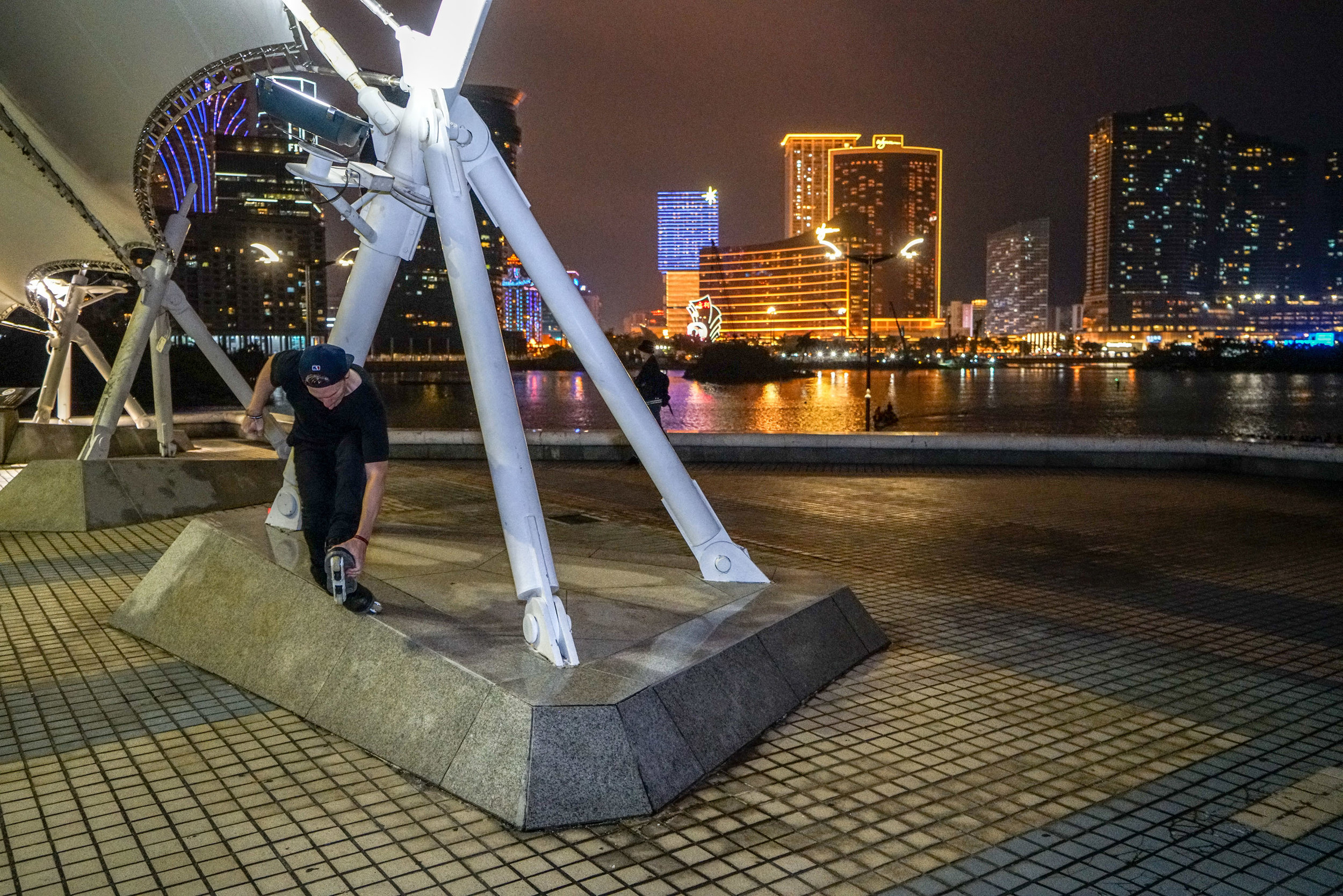 Half Cab Fishbrain in Macau - photo by Kyle Strauss