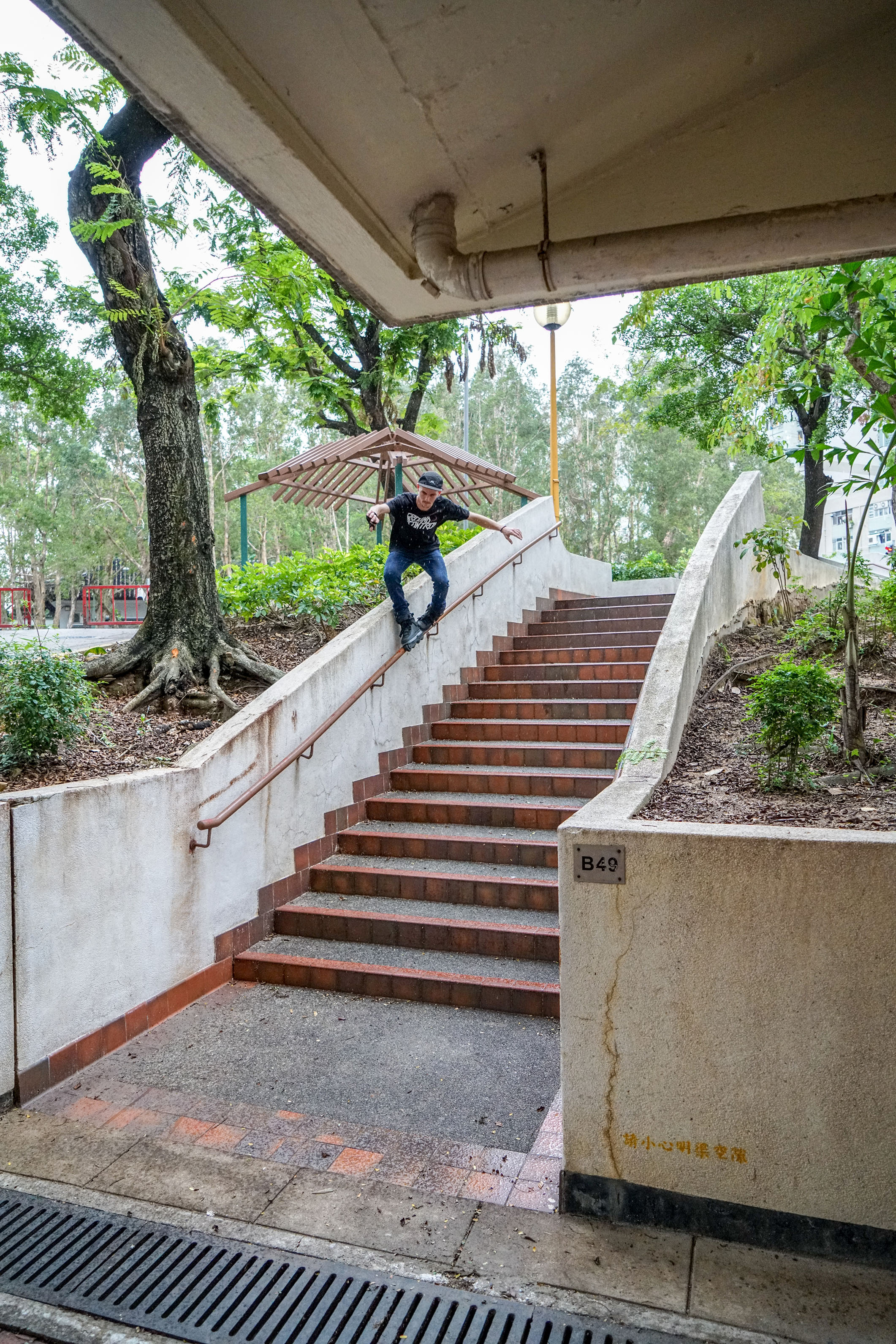 X Grind in the rain - photo by Kyle Strauss