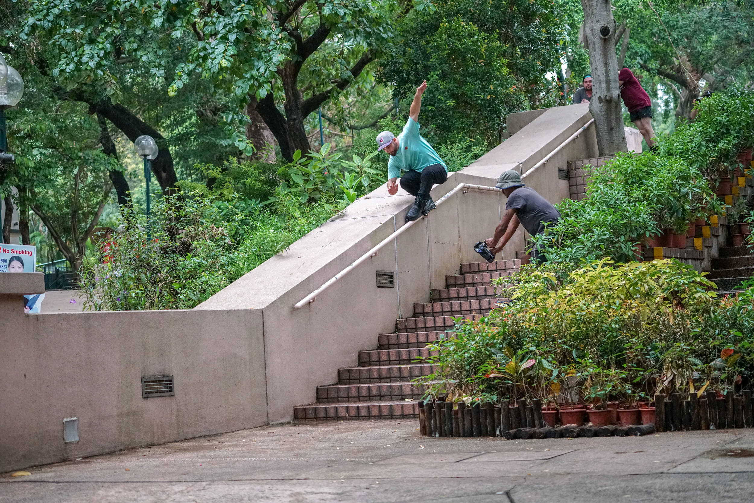 X Grind through the kink - photo by Kyle Strauss