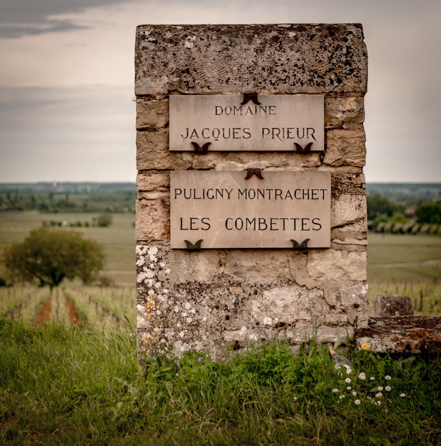 Burgundy : Cote de Beaune : Puligny-Montrachet : Les Combettes