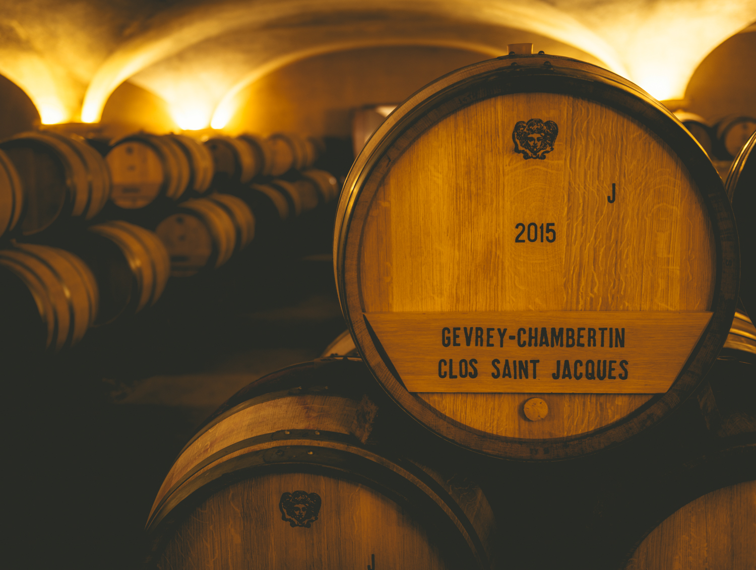Burgundy : Cote de Beaune : Beaune : In the cellar at Louis Jadot