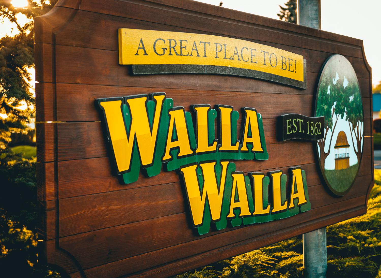 US : Washington : Welcome to Walla Walla