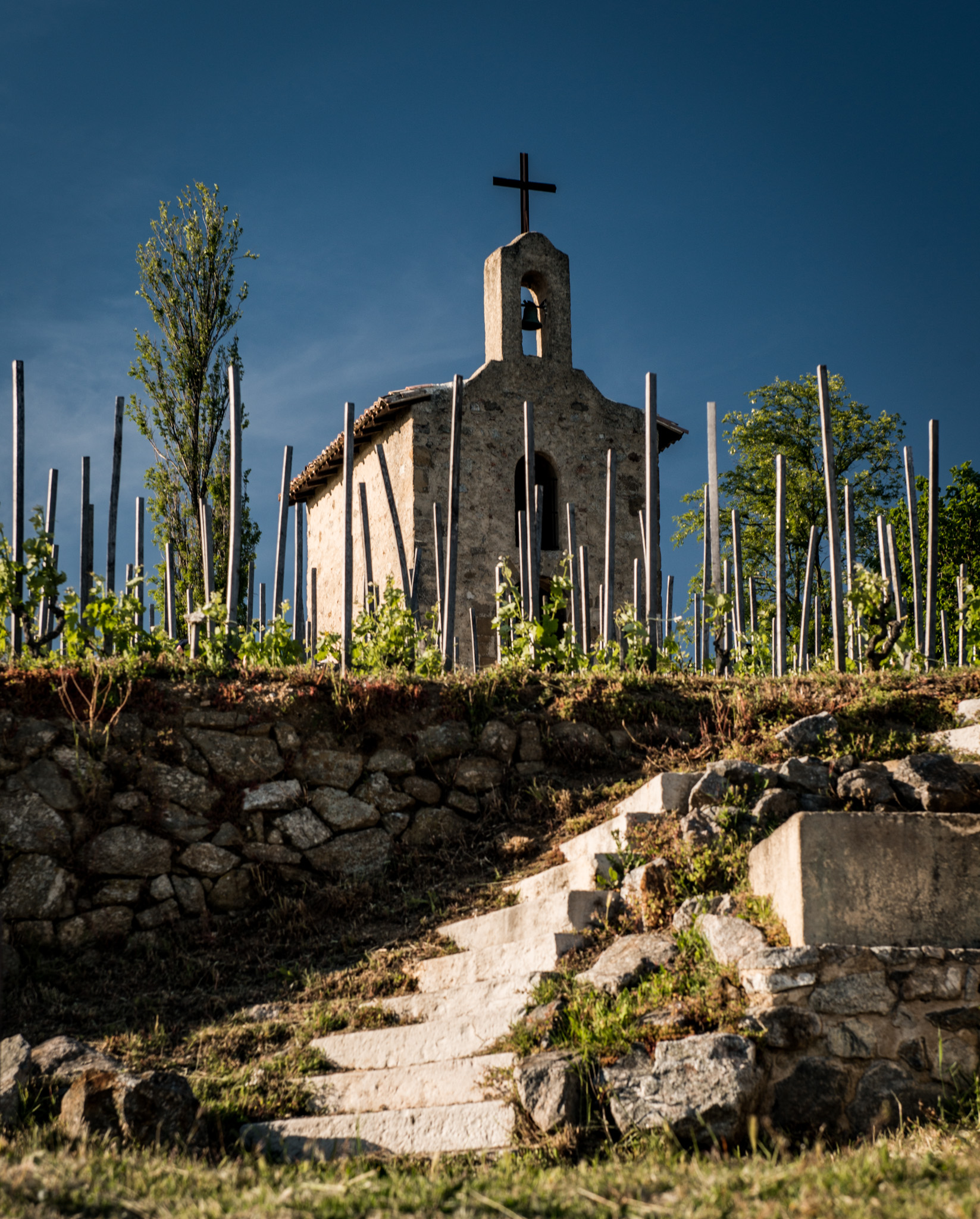 France : Northern Rhone : La Chapelle de l'Hermitage