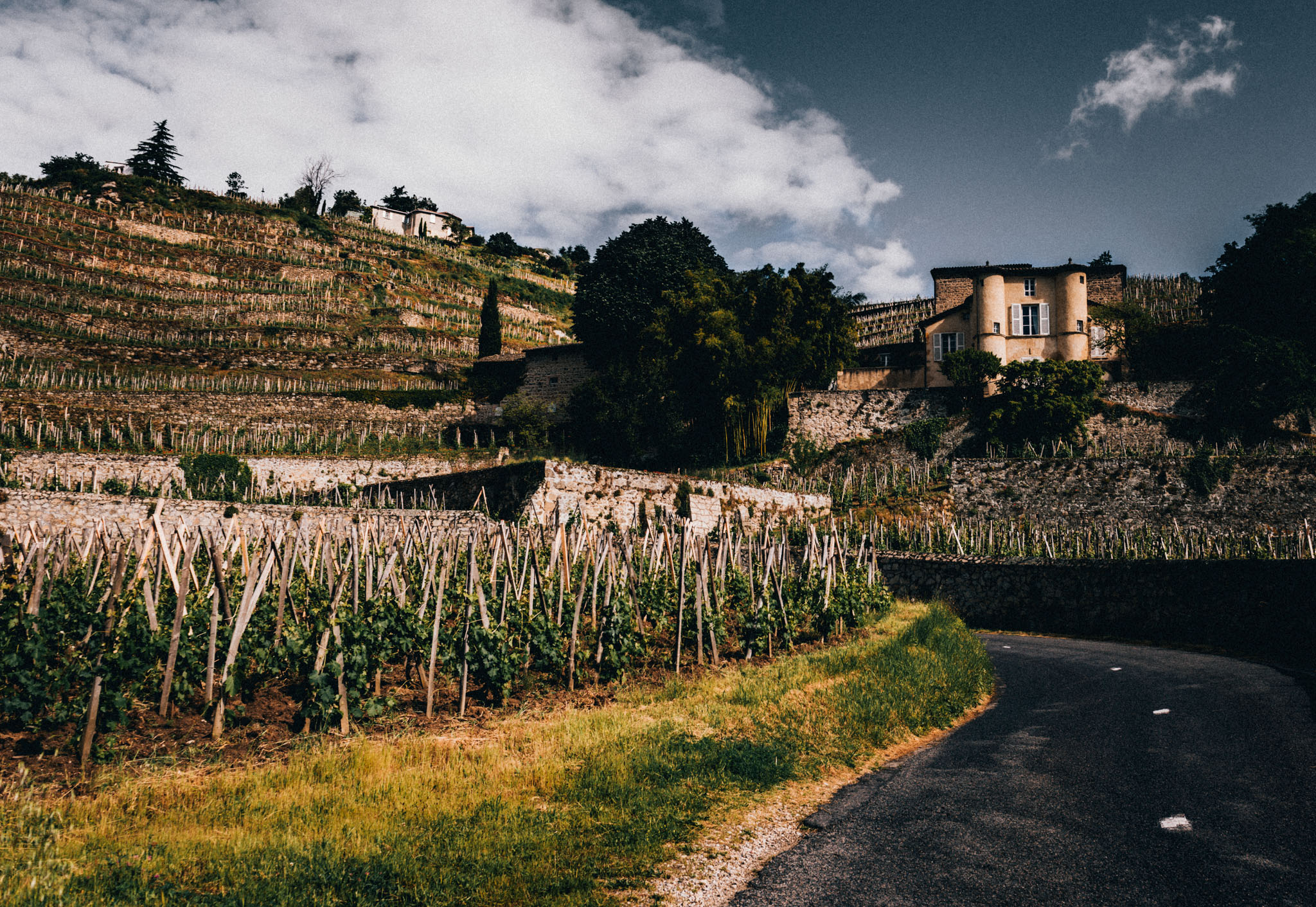 France : Northern Rhone : Chateau-Grillet