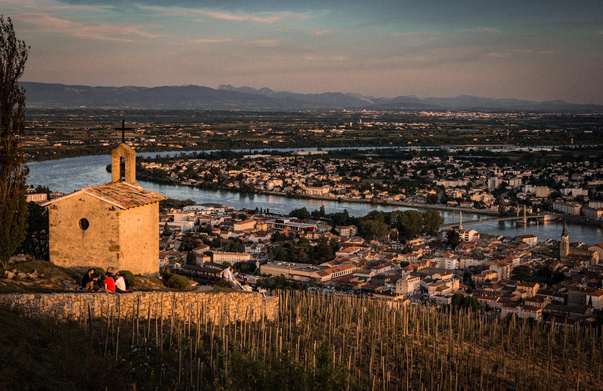 France : Northern Rhone : La Chapelle de l'Ermite