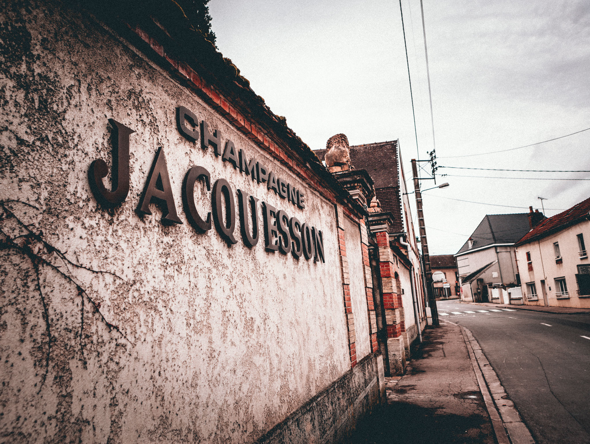 France : Champagne : Jacquesson in Dizy