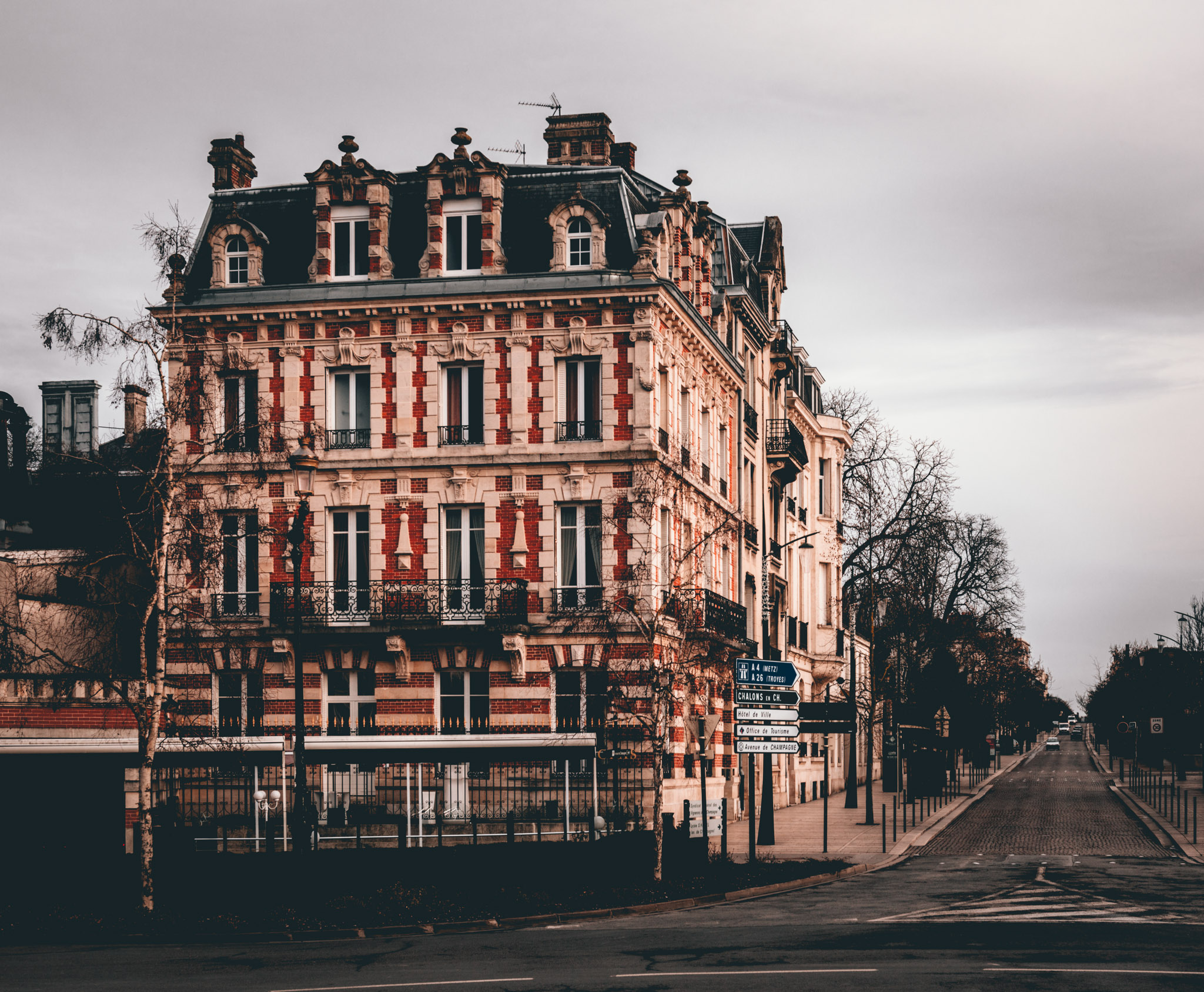 France : Champagne : Epernay