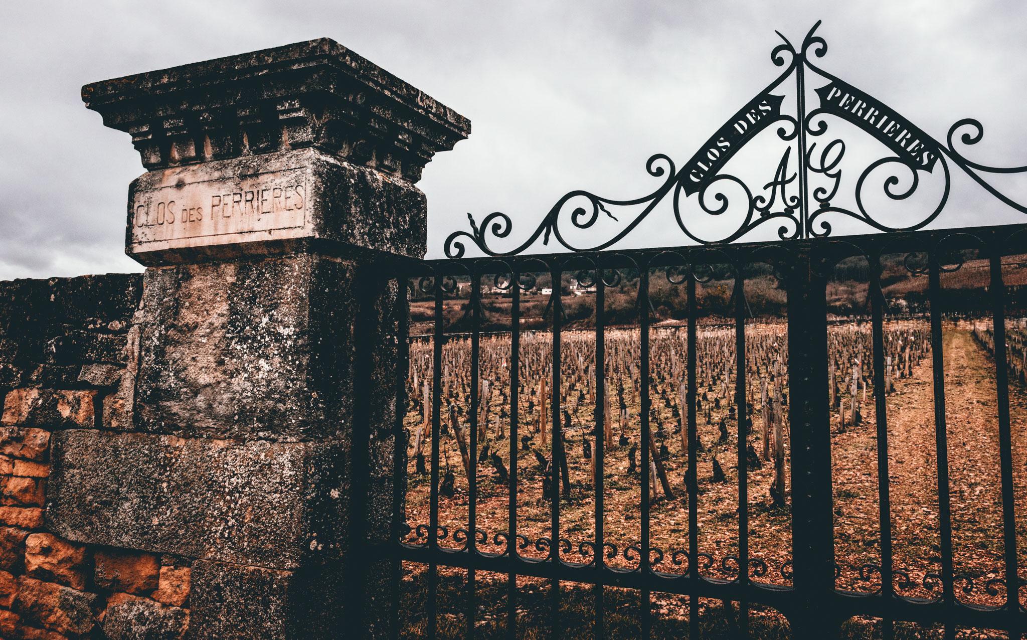 Burgundy : Cote de Beaune : Meursault : Clos des Perrieres