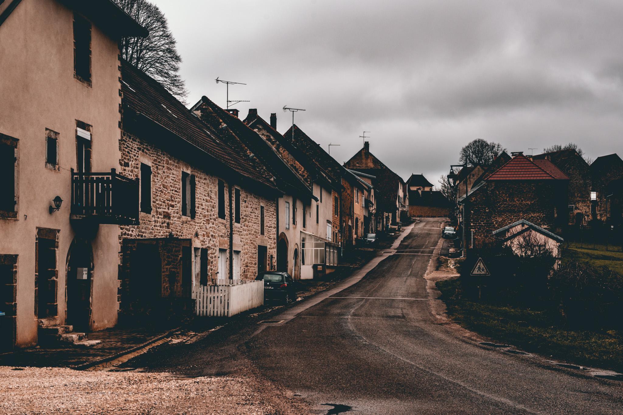 France : Jura : Scenery in Mantry