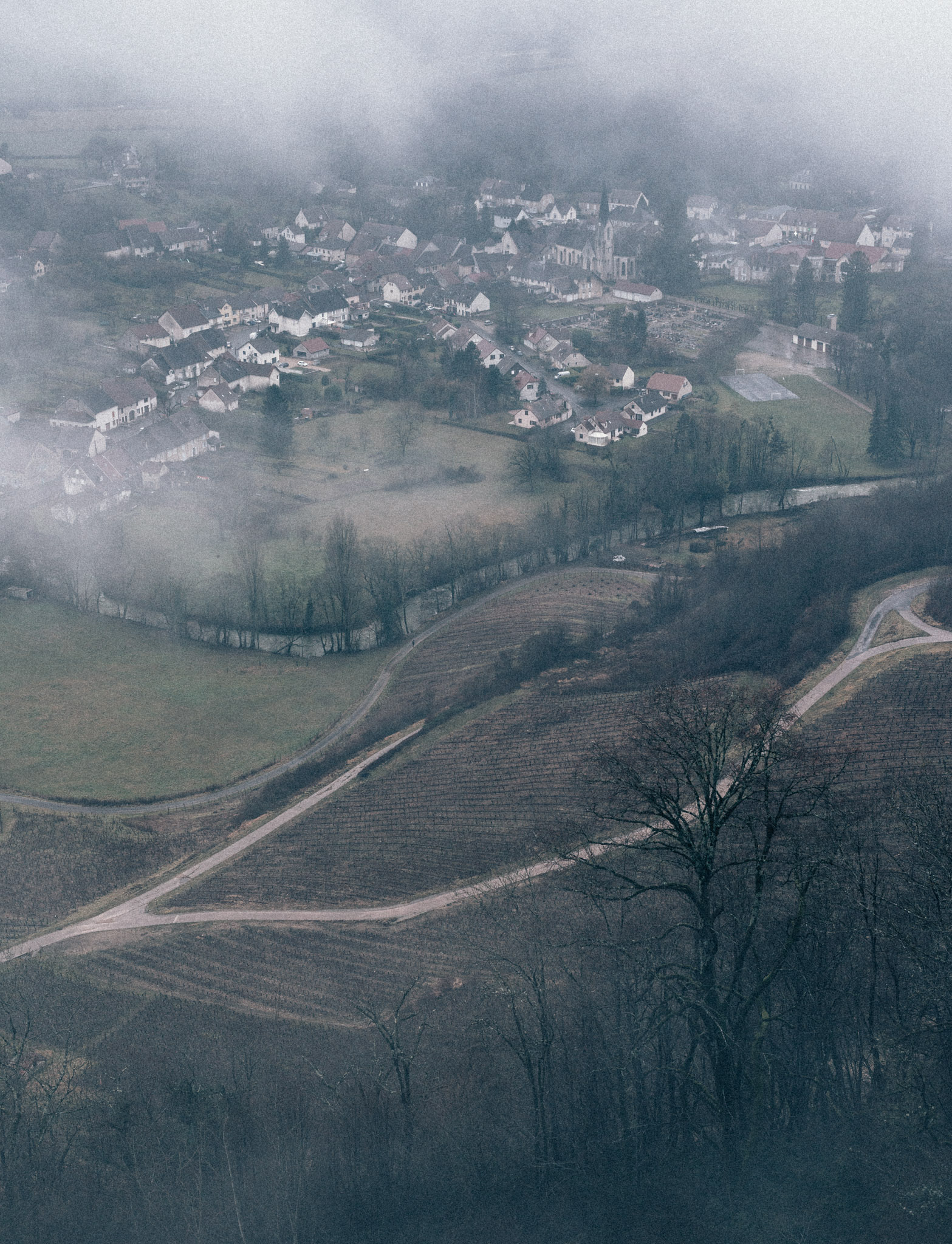 France : Jura : Chateau-Chalon
