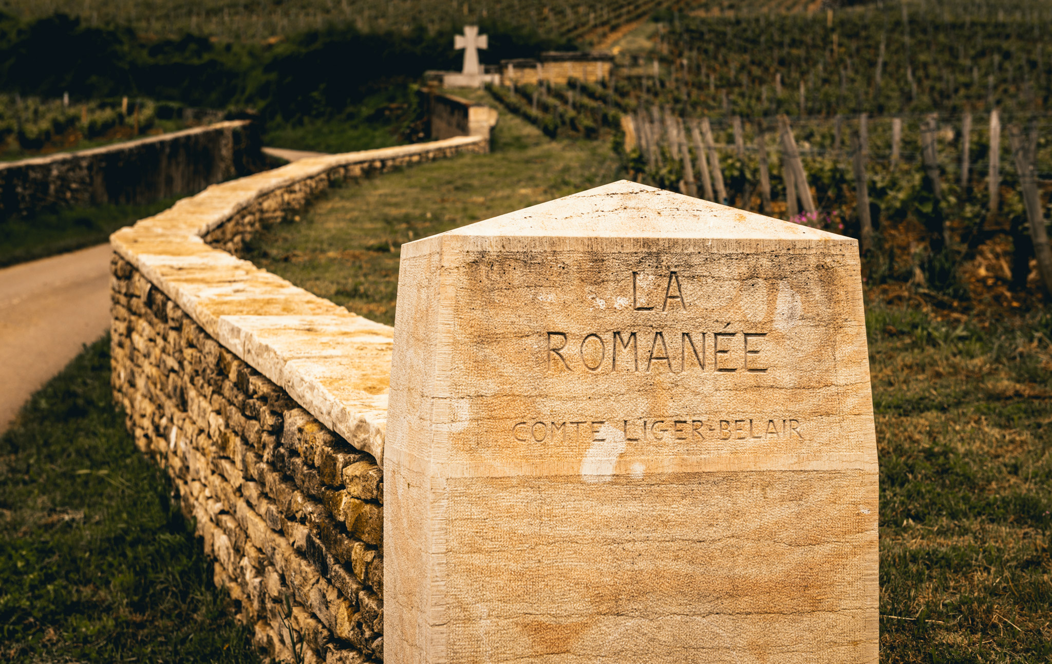 Burgundy : Cote de Nuits : Vosne-Romanée : La Romanée