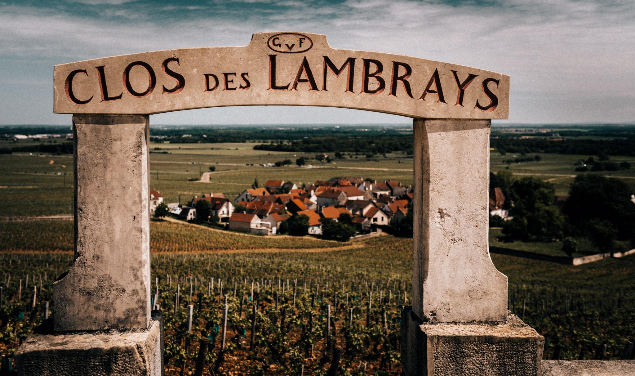 Burgundy : Cote de Nuits : Morey-St-Denis : Clos de Lambrays