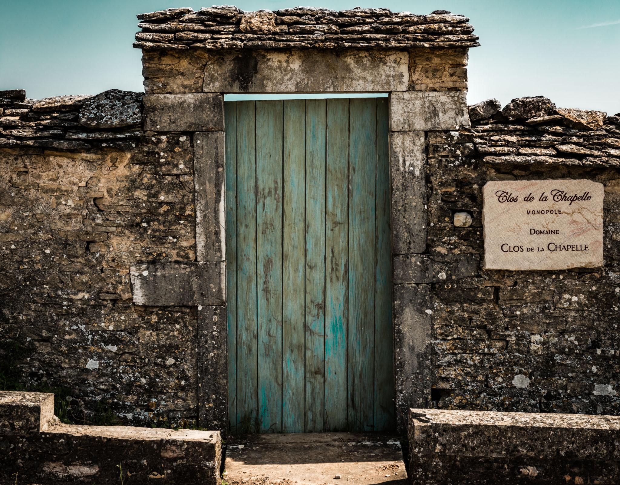 Burgundy : Cote de Beaune : Volnay : Clos de la Chapelle