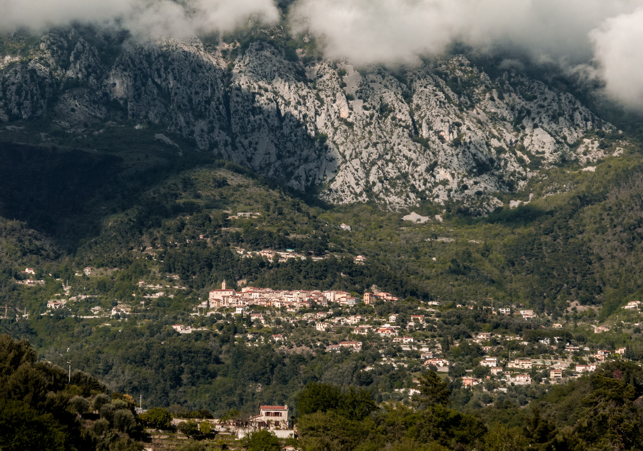 France : Provence : Mountains outside Nice