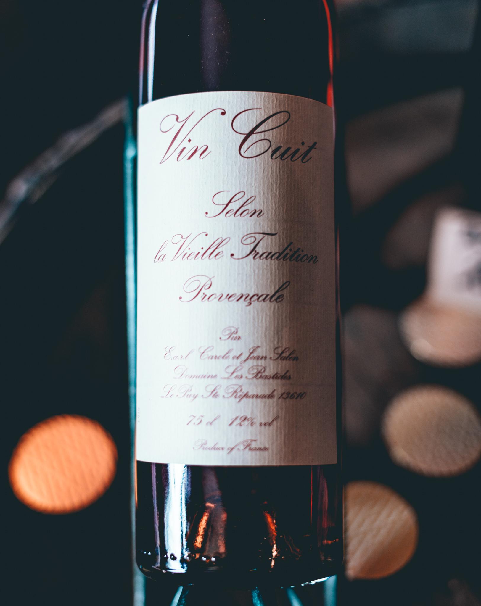 France : Provence : Vin Cuit at Domaine Les Bastides in Coteaux-d'Aix-en-Provence