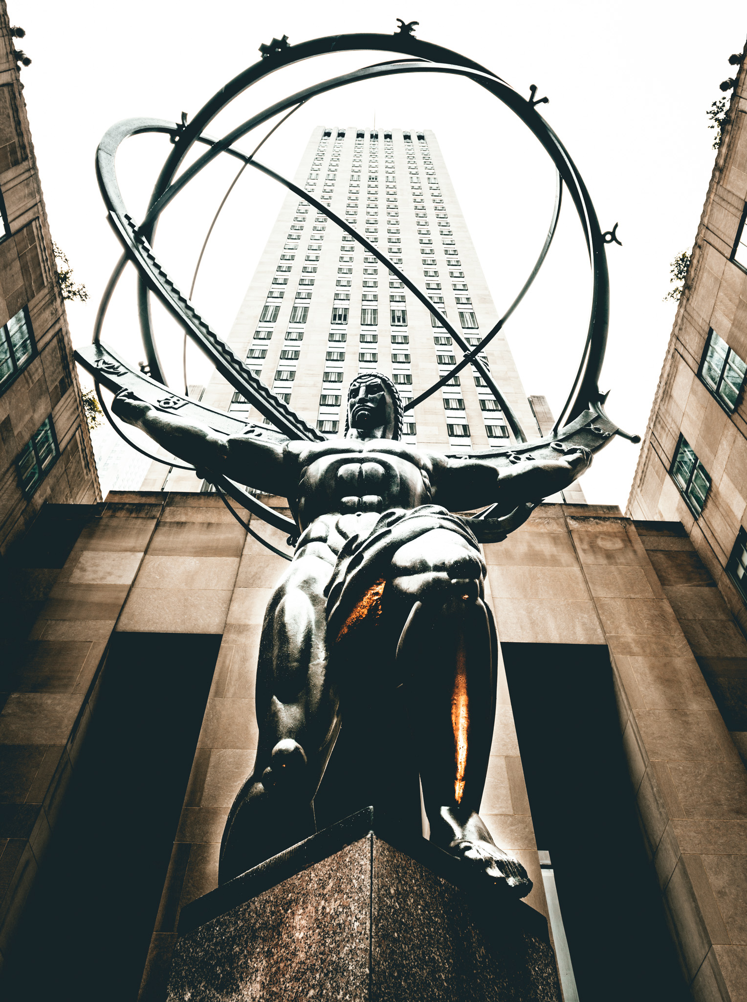 New York : New York City : Rockefeller Center : Atlas