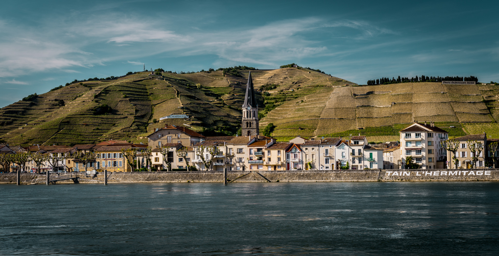 France : Northern Rhone : Tain l'Hermitage