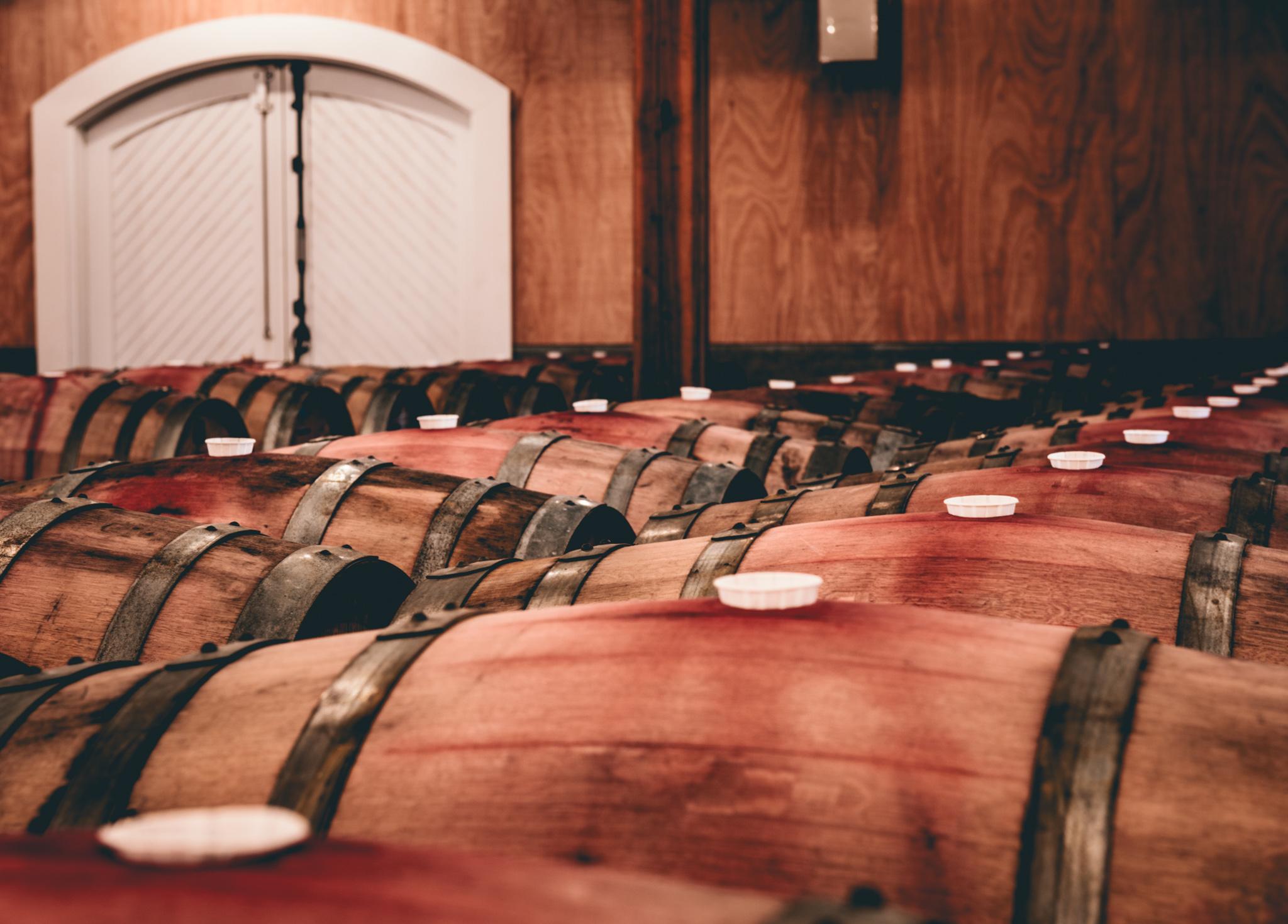 California : Napa Valley : Corison Winery in St. Helena