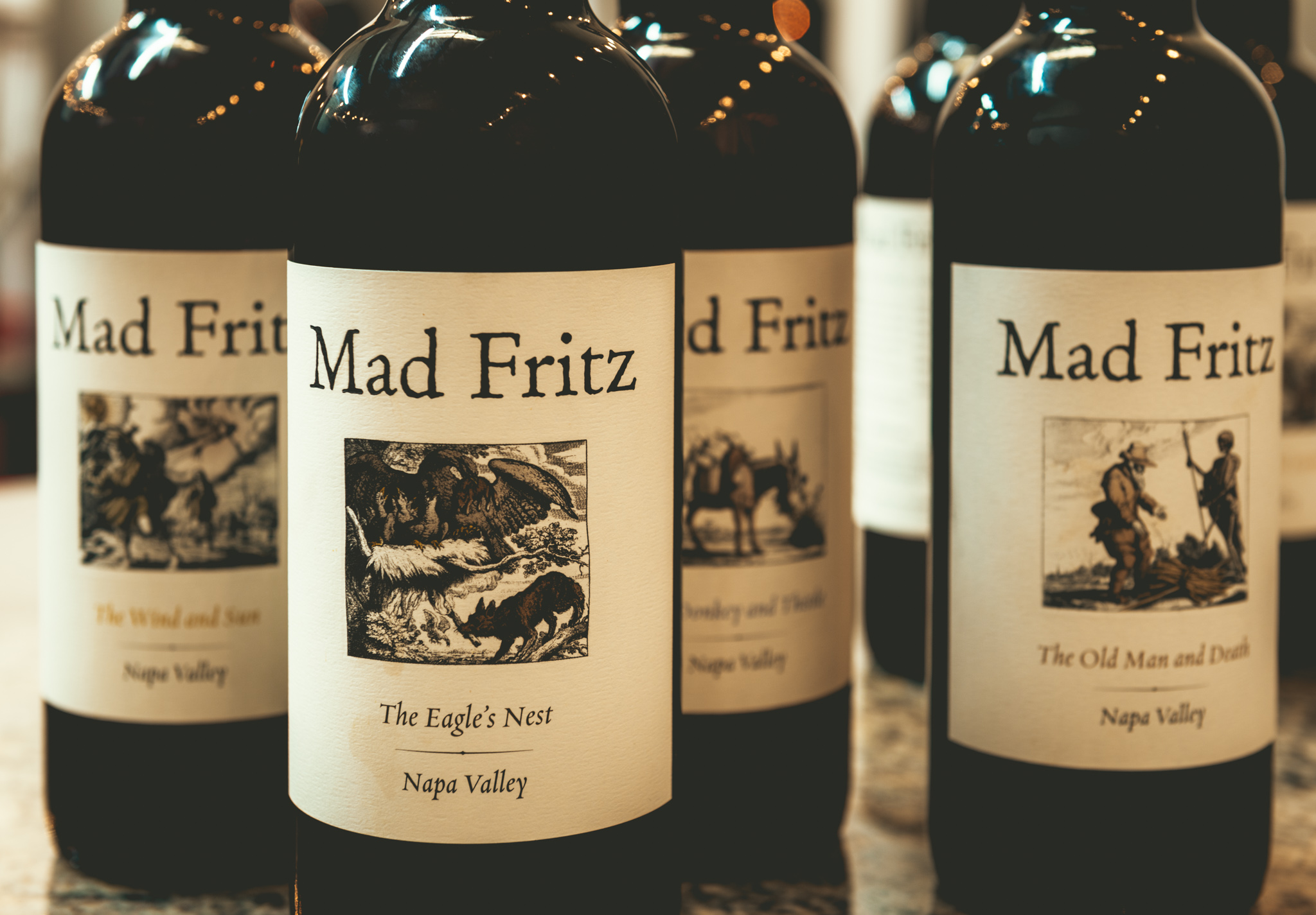 California : Napa Valley : Mad Fritz brewery in St. Helena
