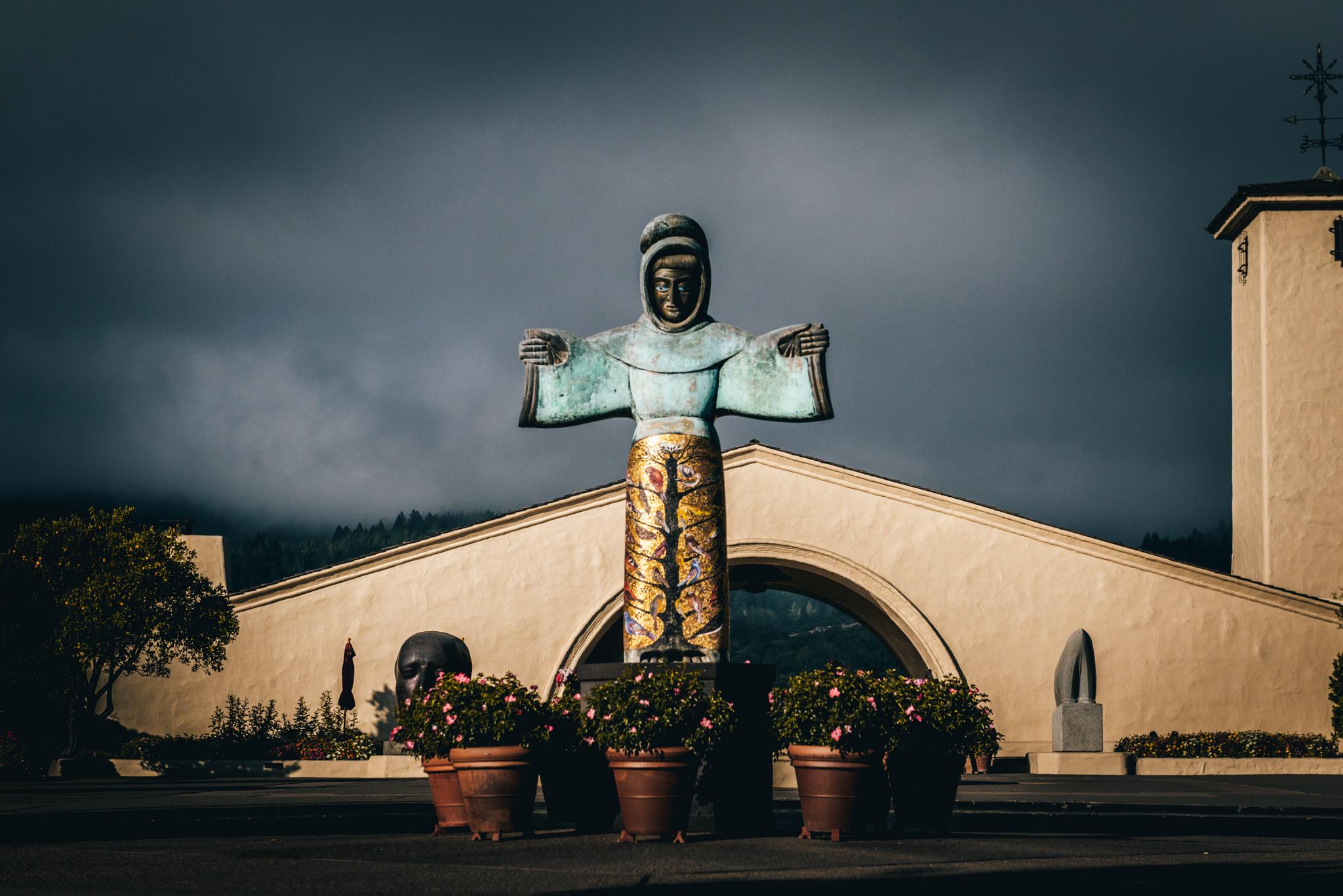 California : Napa Valley : Robert Mondavi Winery in Oakville