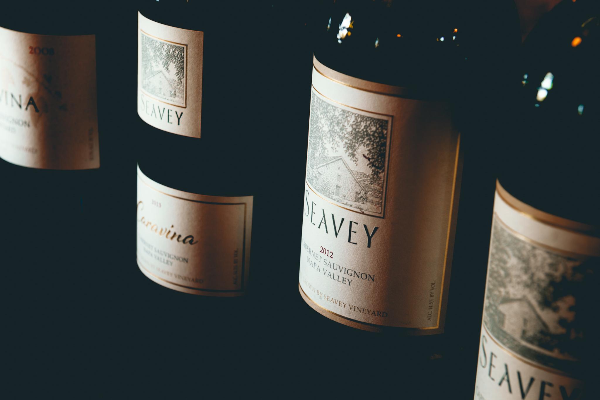 California : Napa Valley : Tasting at Seavey Vineyard