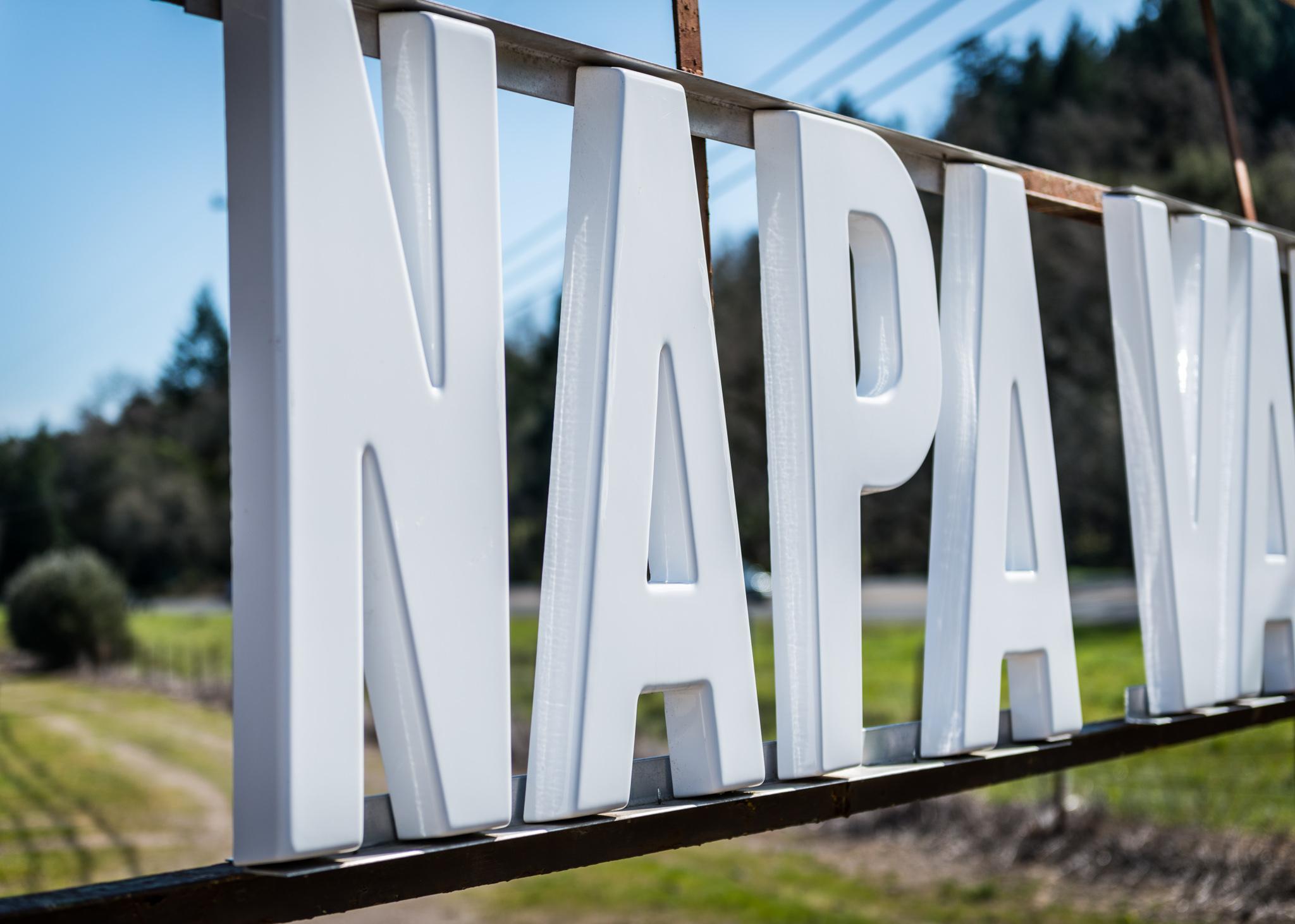 California : Napa Valley : North end of the Napa Valley