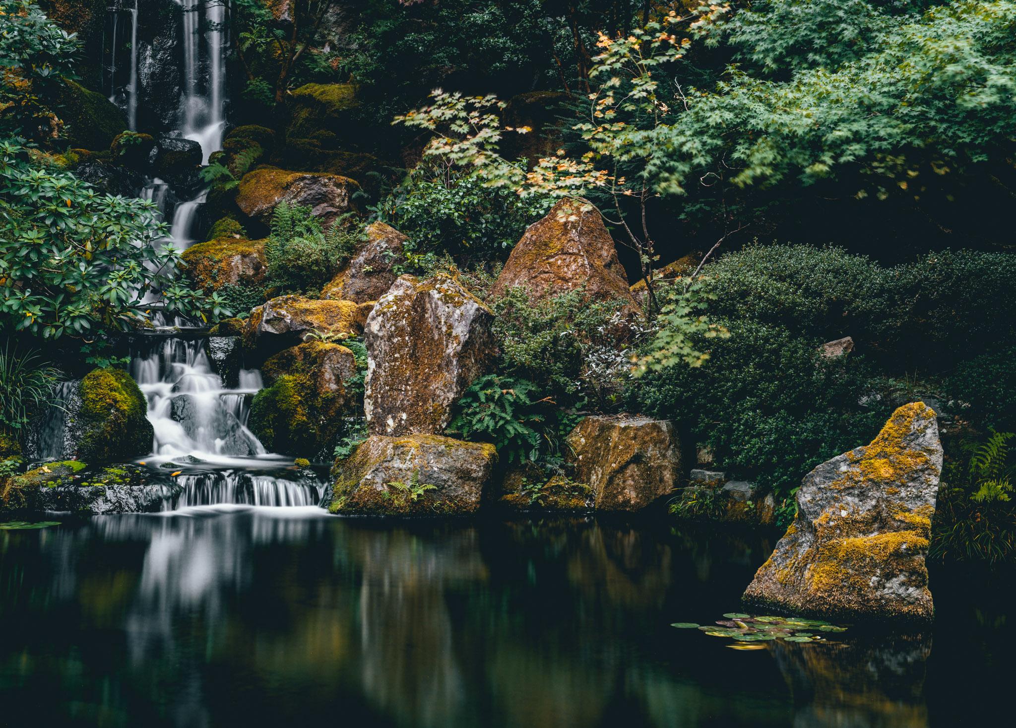 United States : Oregon : Portland : Japanese Garden