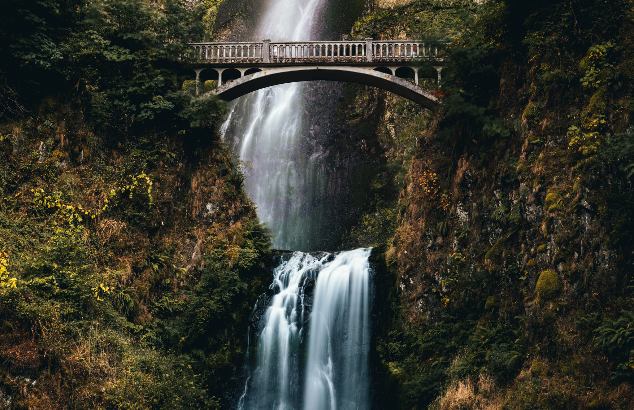 United States : Oregon : Multnomah Falls