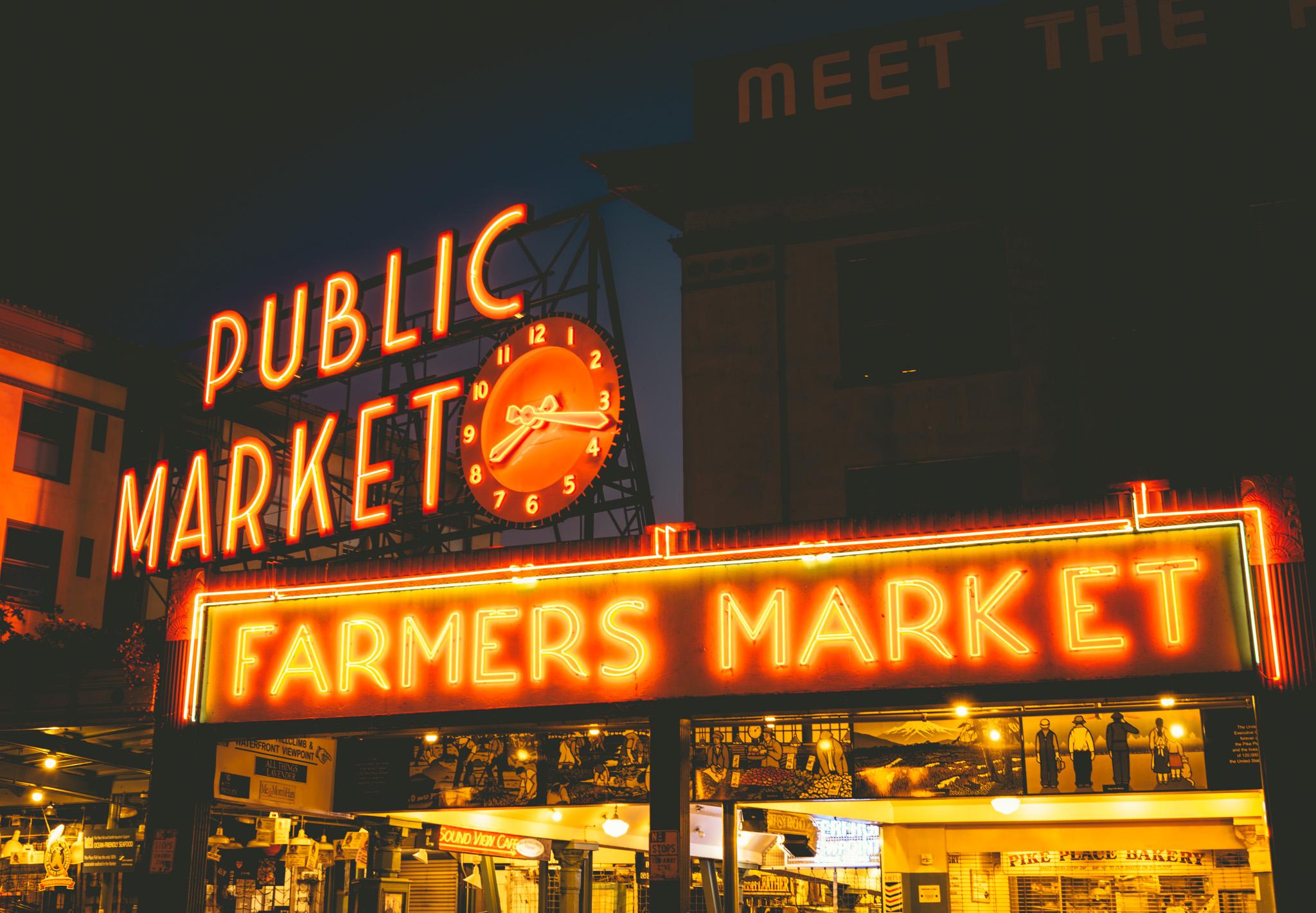 United States : Washington : Seattle : Pike Place Market