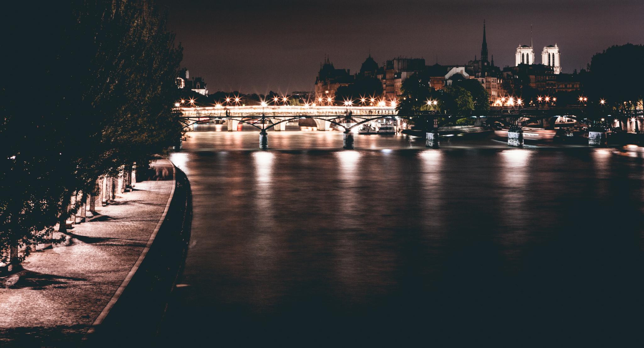 France : Paris : Seine, Notre Dame