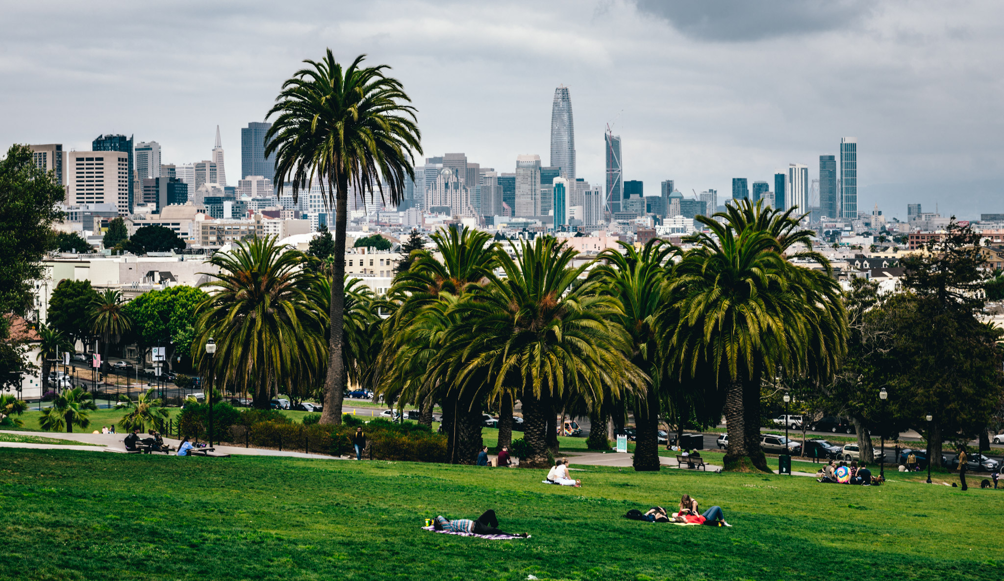 California : San Francisco : Mission Dolores Park