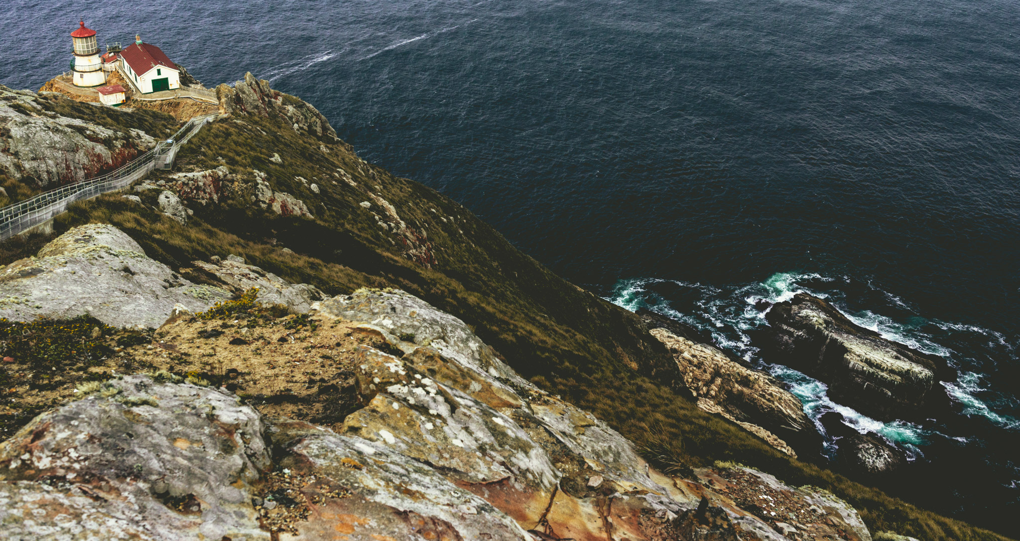 California : Point Reyes : Point Reyes Lighthouse