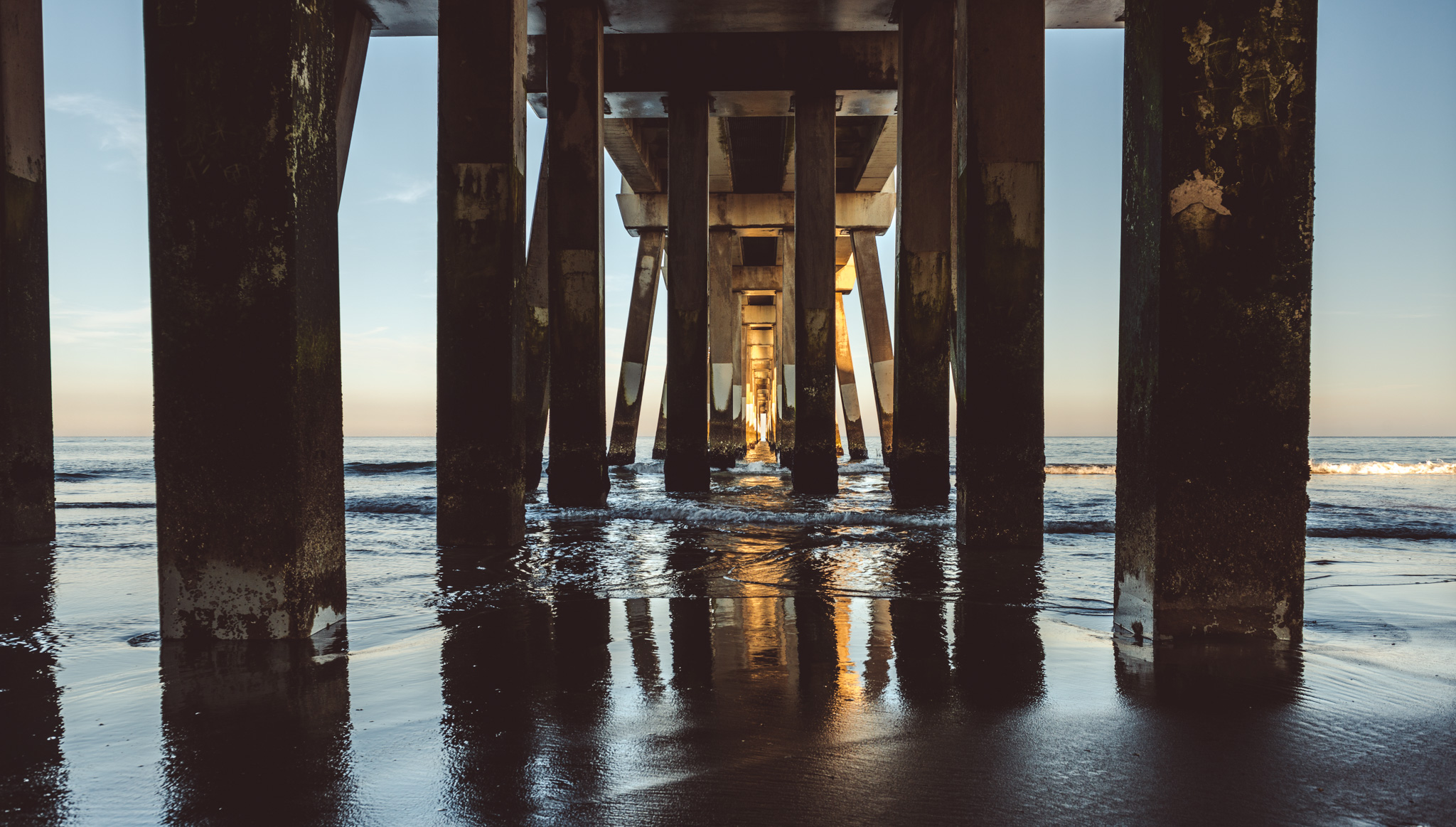North Carolina : Outer Banks : Nags Head : Jennette's Pier