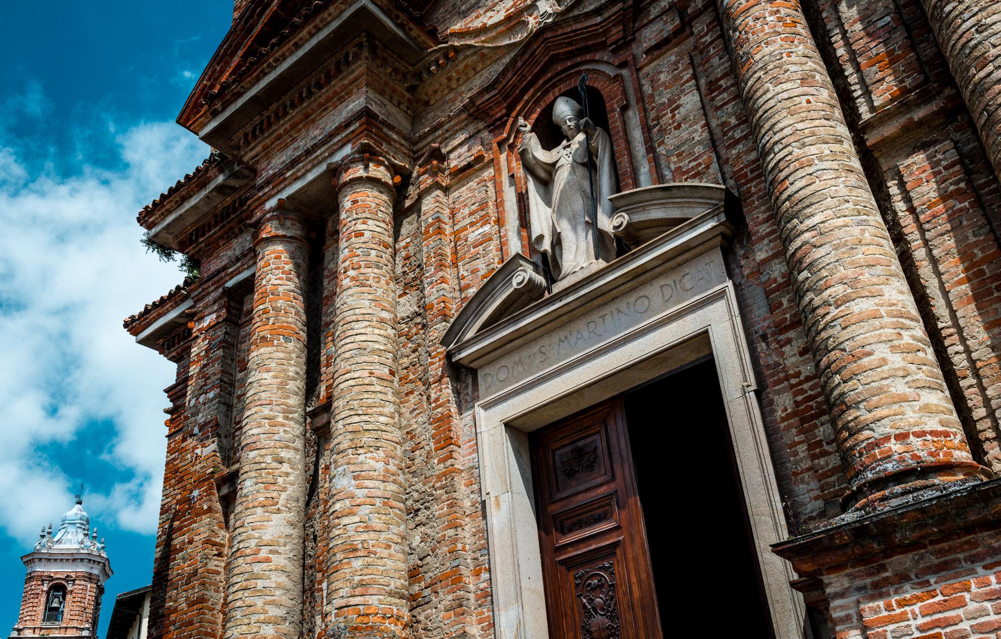 Italy : Piedmont : Chiesa di San Martino in La Morra