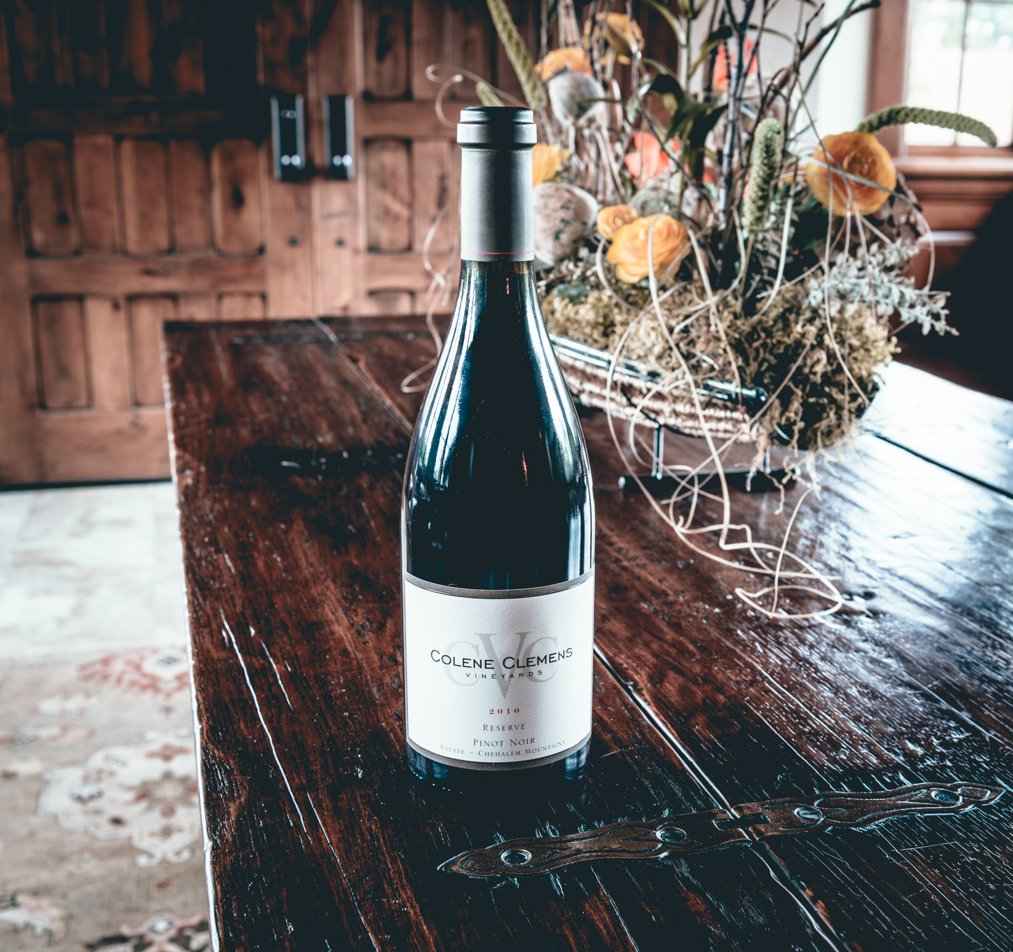 US : Oregon : Tasting at Colene Clemens in the Chehalem Mountains AVA
