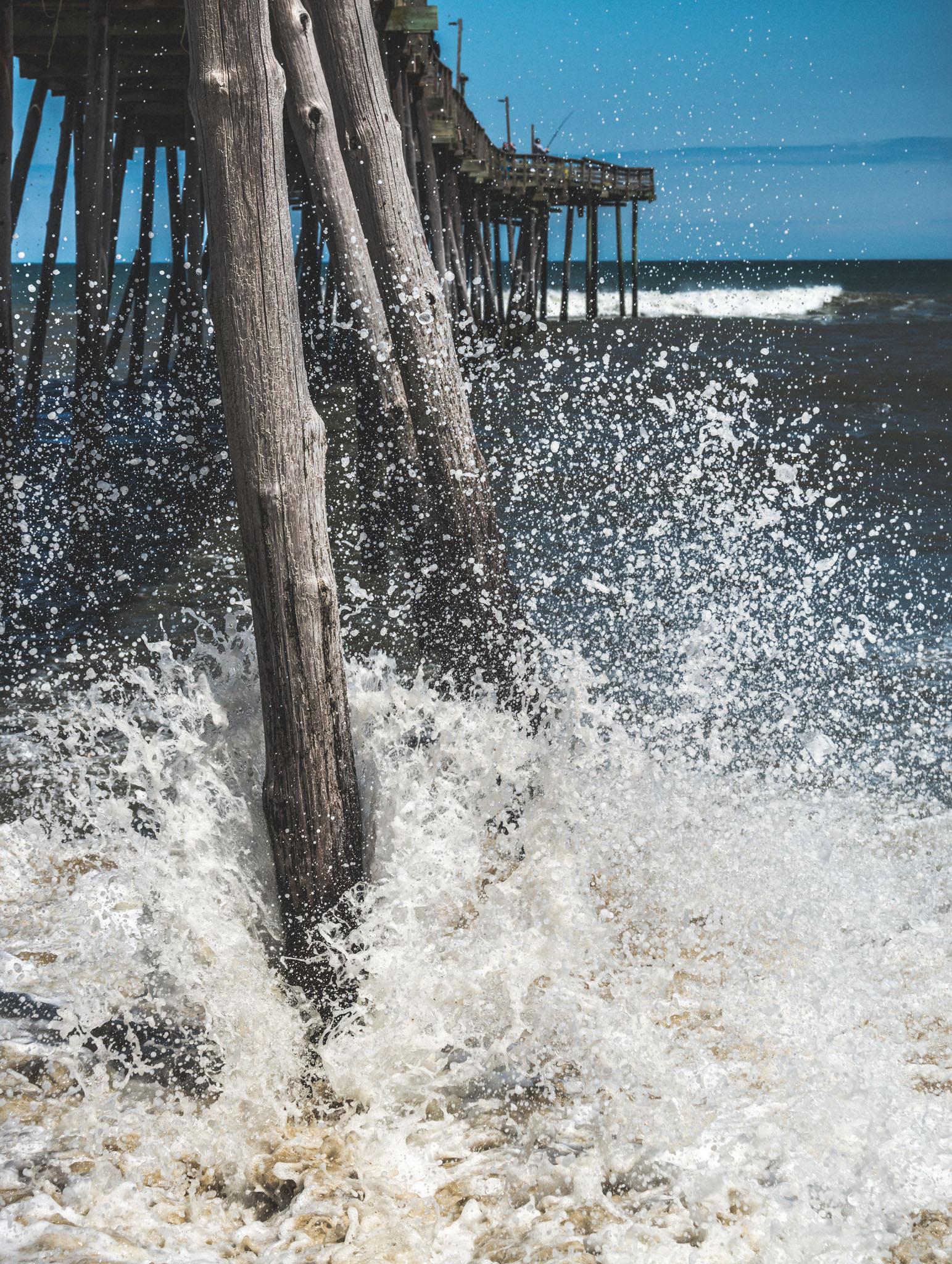 North Carolina : Outer Banks : Kill Devil Hills : Avalon Pier
