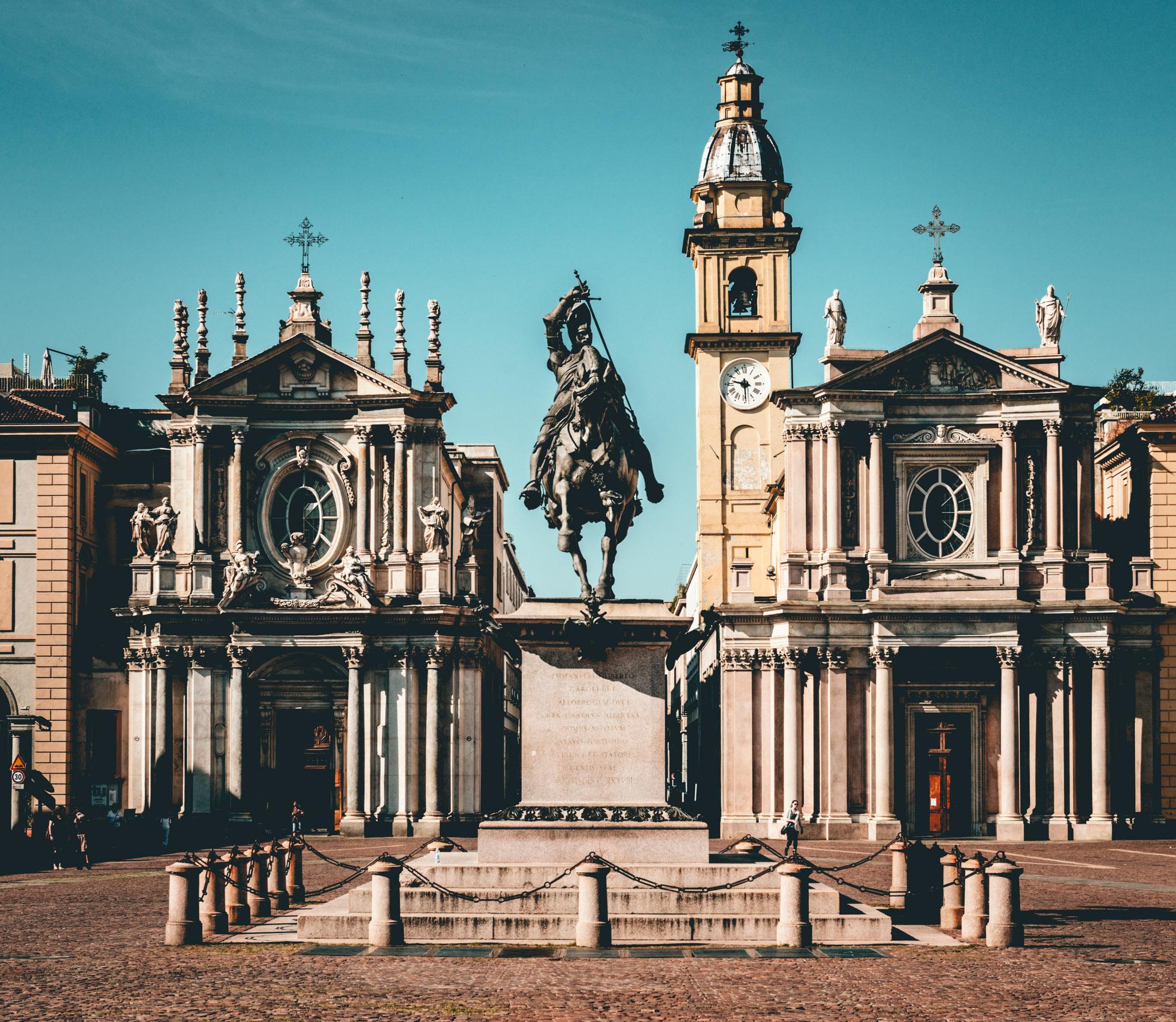 Italy : Turin : Piazza San Carlo