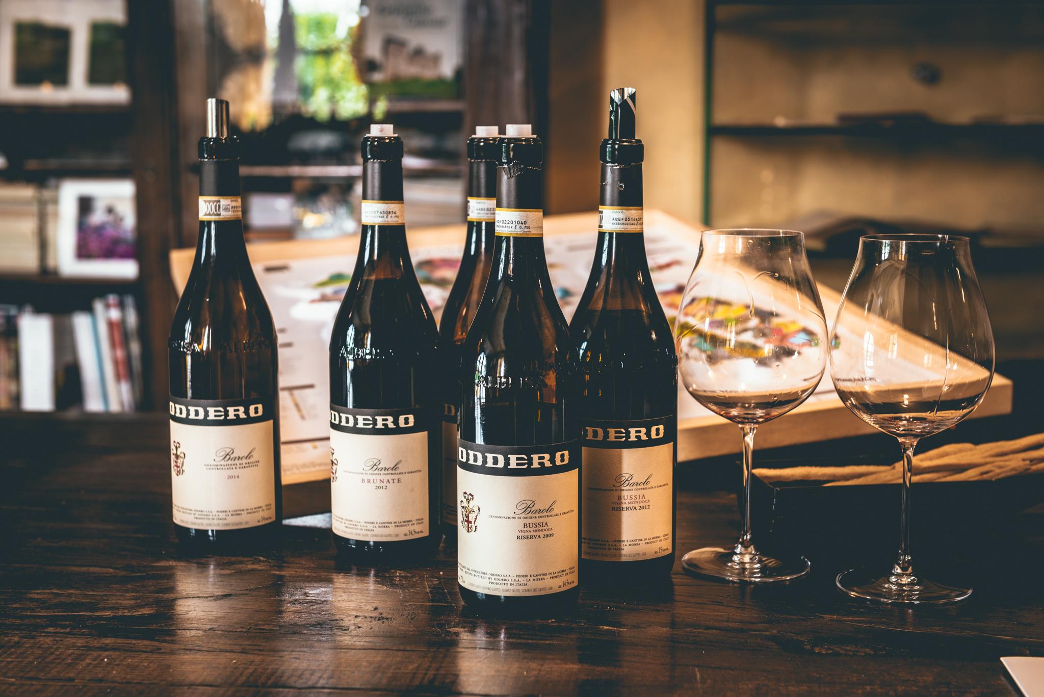 Italy : Piedmont : Tasting at Oddero's estate in La Morra