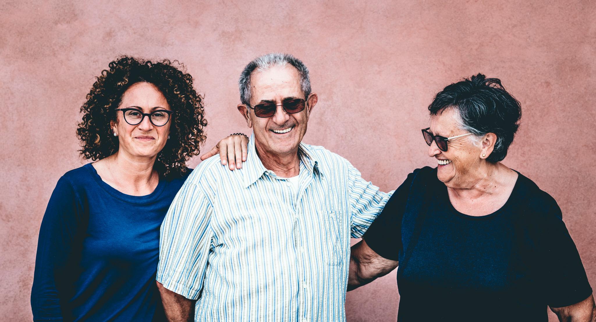 Italy : Piedmont : Silvia, Elio and Lucia Altare