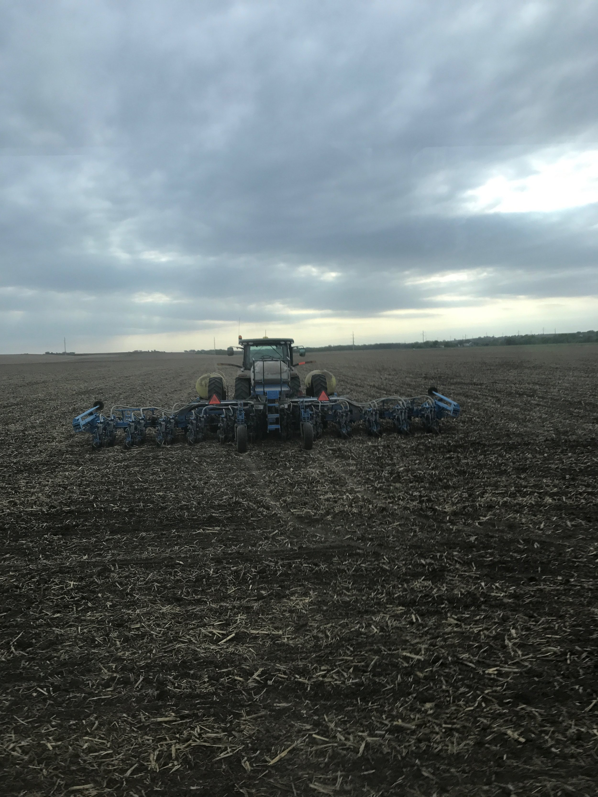 Equipment used for precision planting by Ryan and June Loseke.