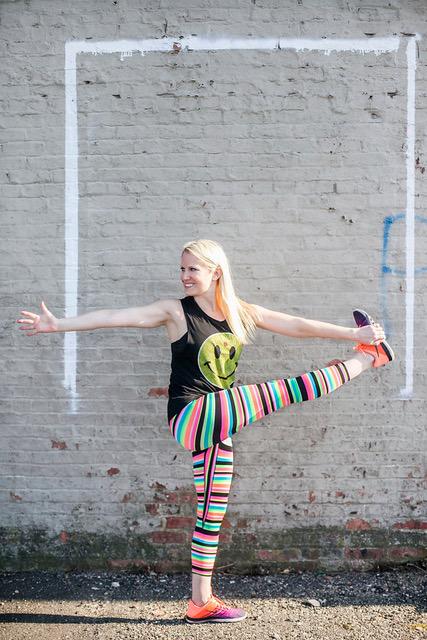 Mandy Enright: leggings game STRONG.