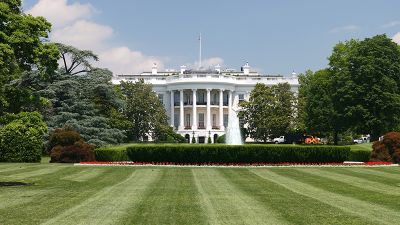 """White House"" by Daniel Schwen is licensed under CC BY-SA 3.0"