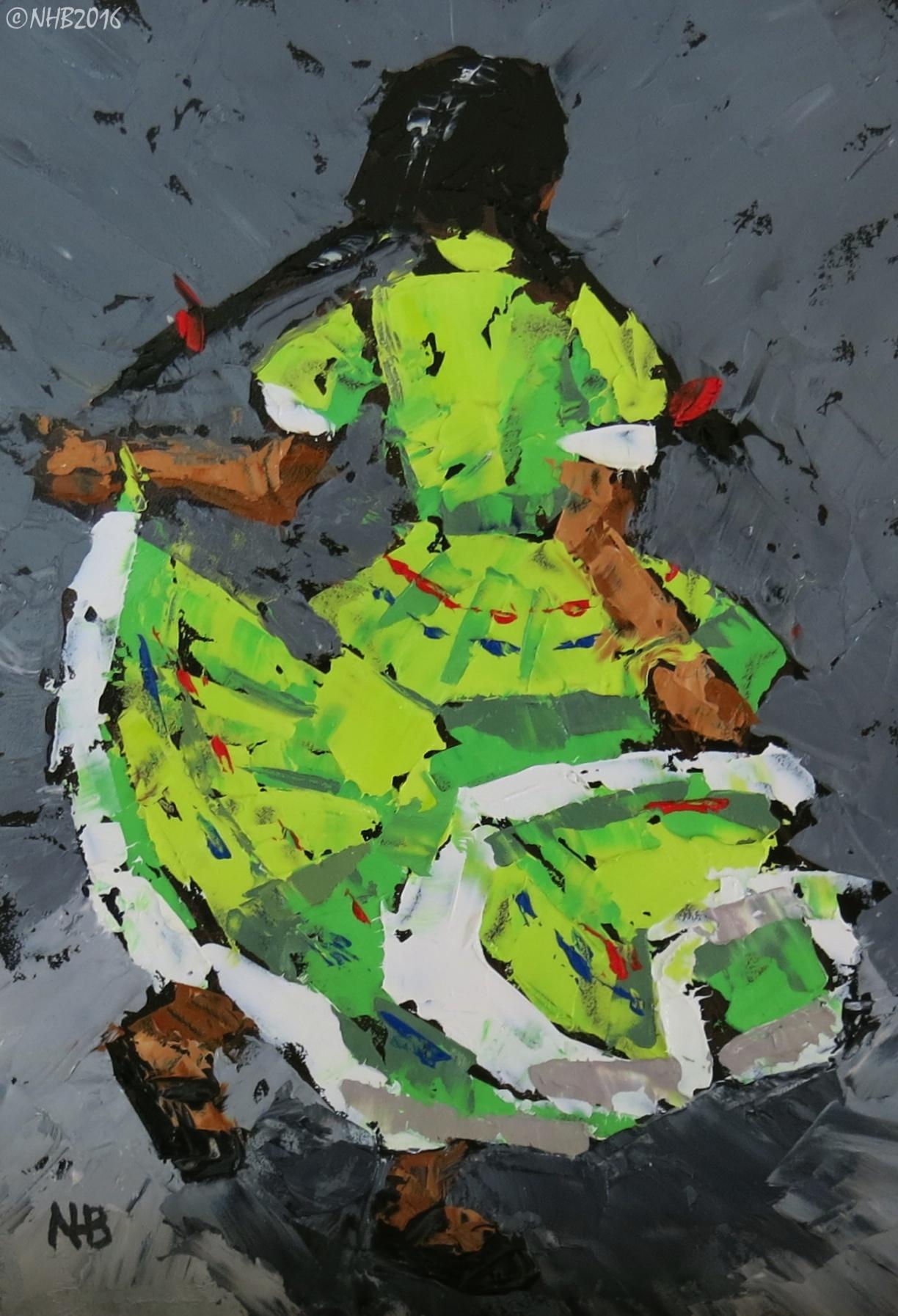 La Niña Baila (Verde)