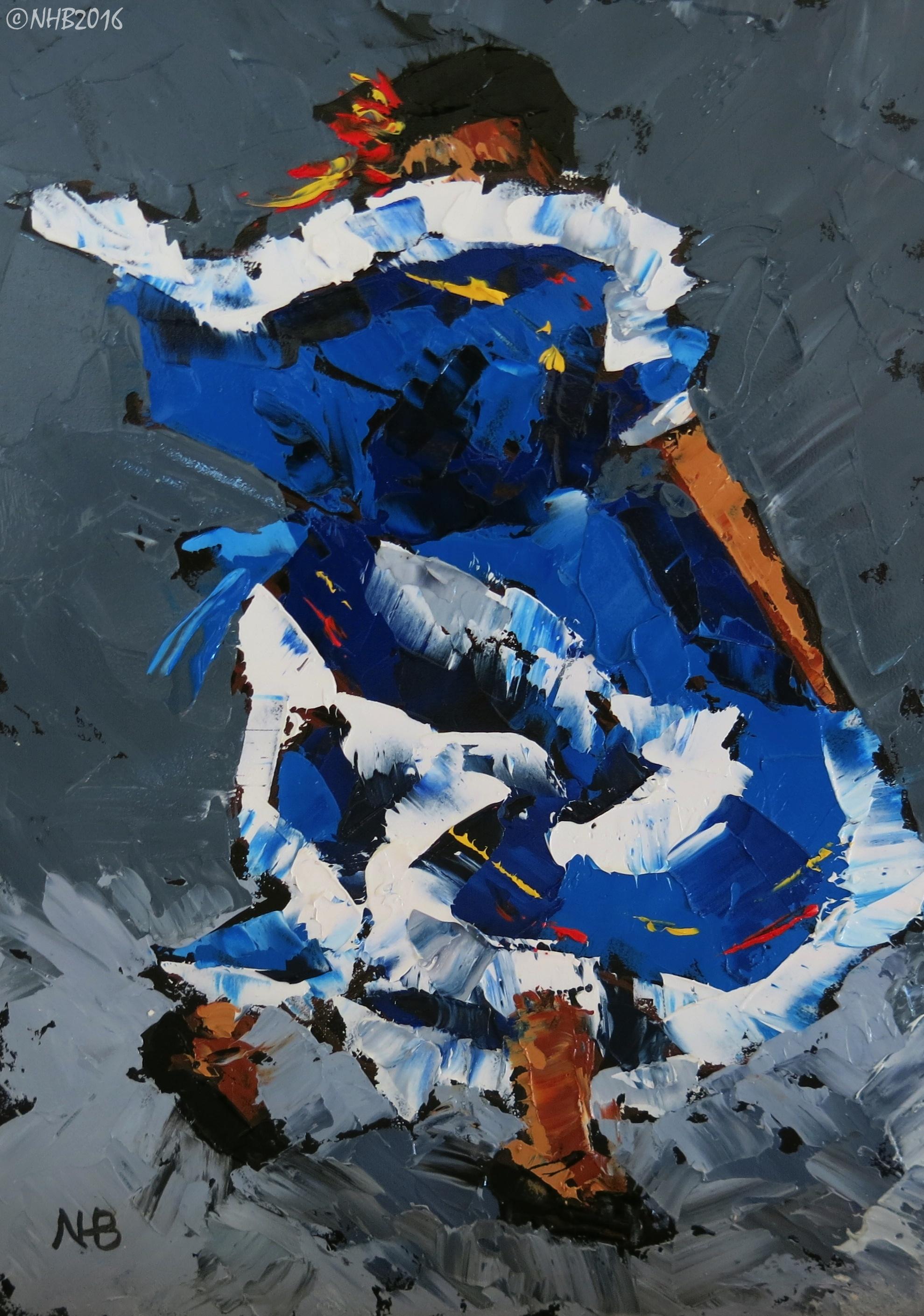 La Niña Baila (Azul)