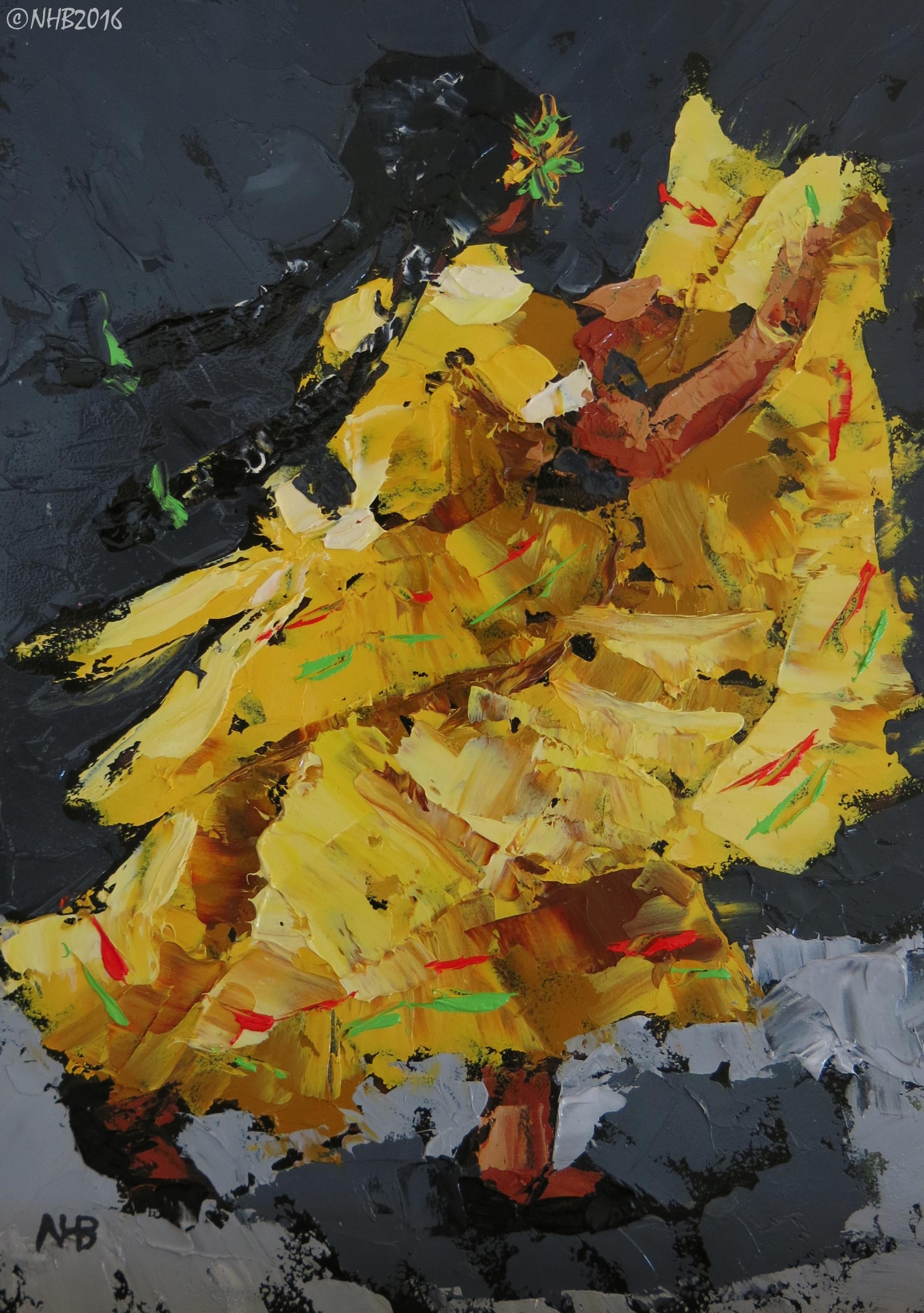 La Niña Baila (Amarilla)